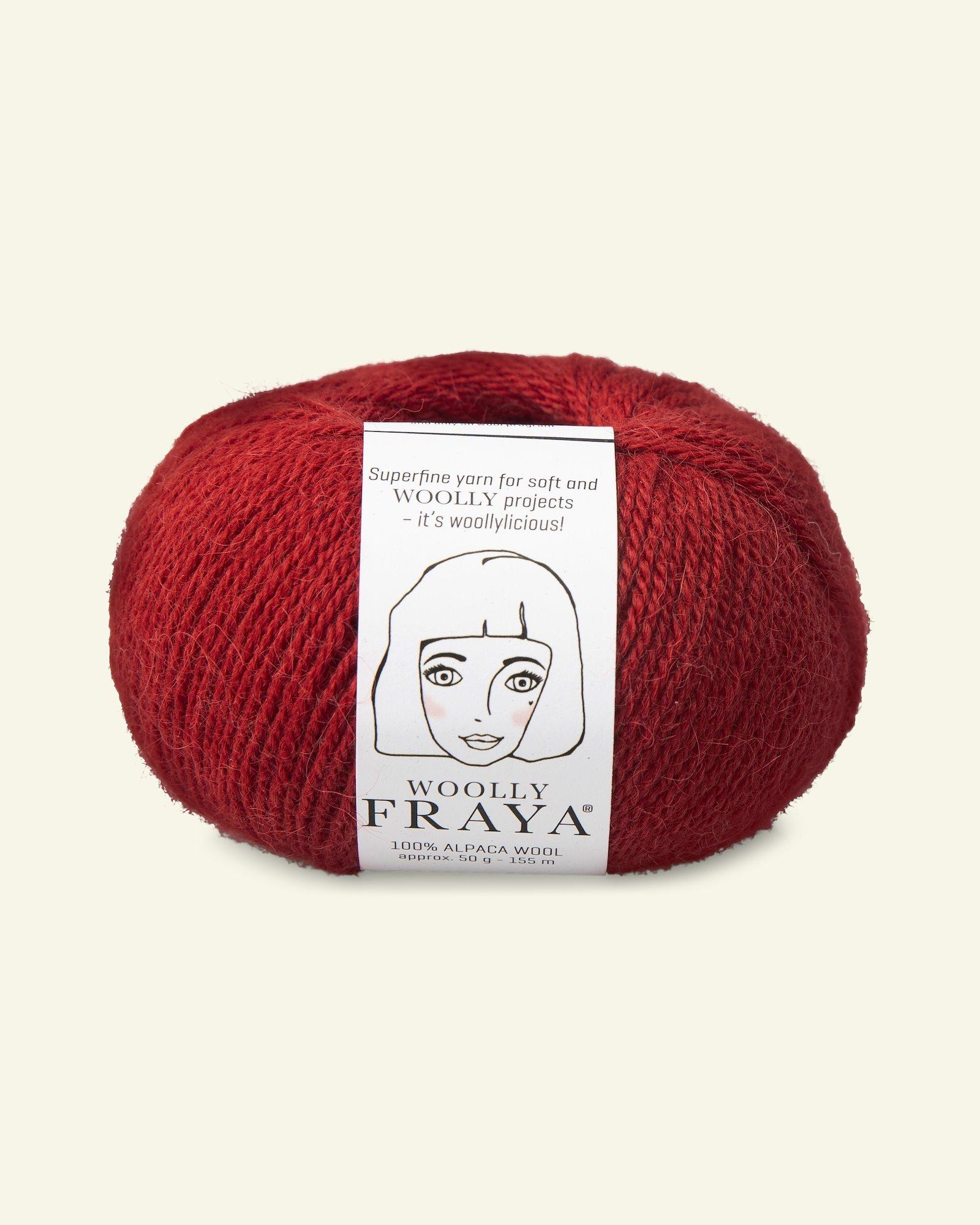 Woolly 50g, Rot