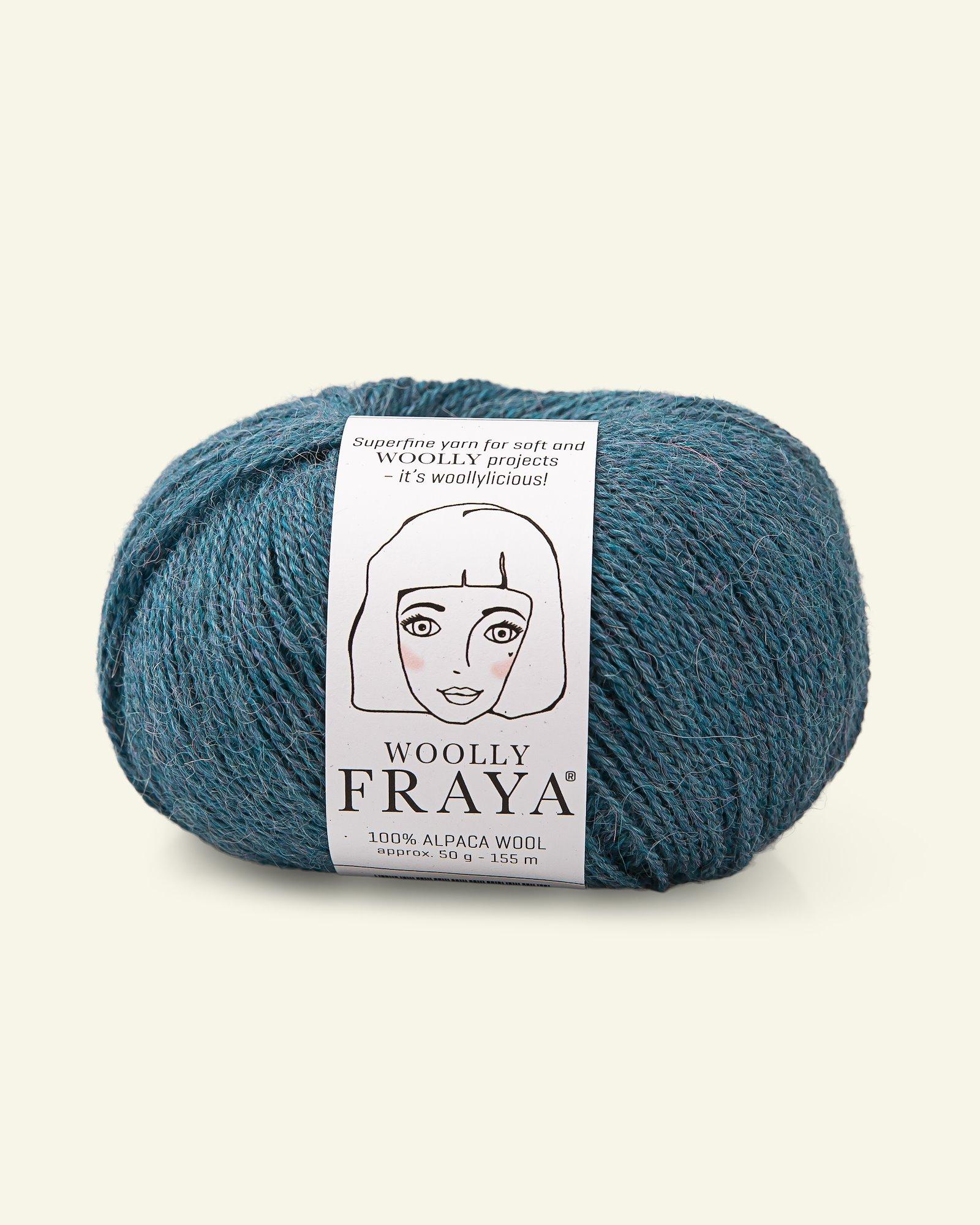 Woolly 50g, Himmelblau Melange