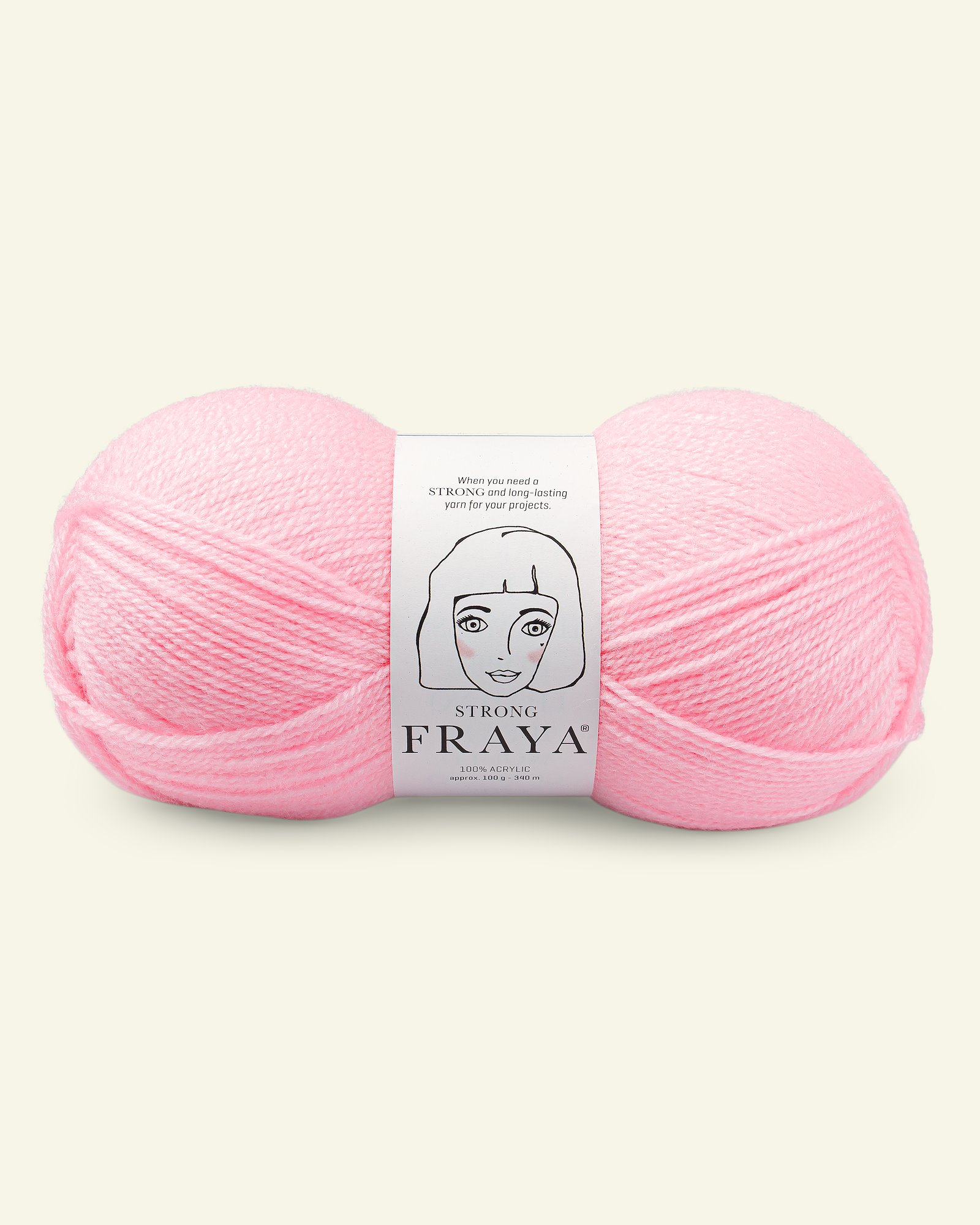 Strong, Baby Pink, 100g
