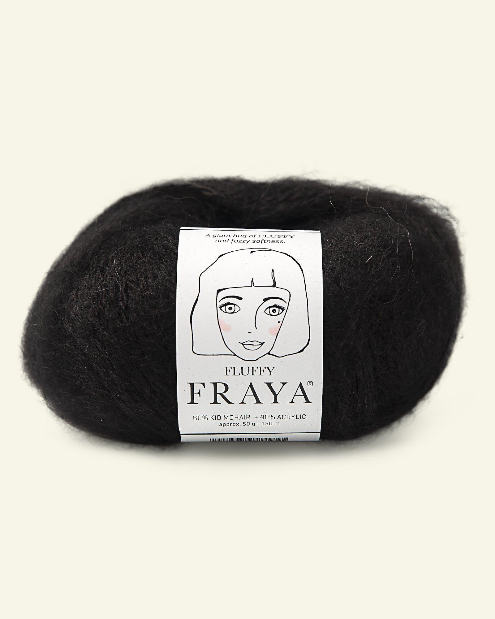 Fluffy black 50g