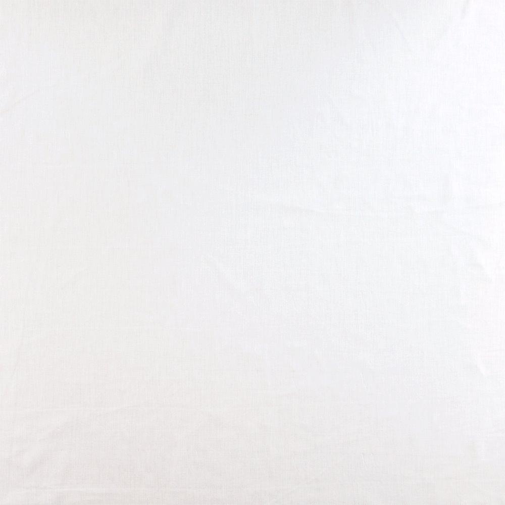 Poplin chintz white
