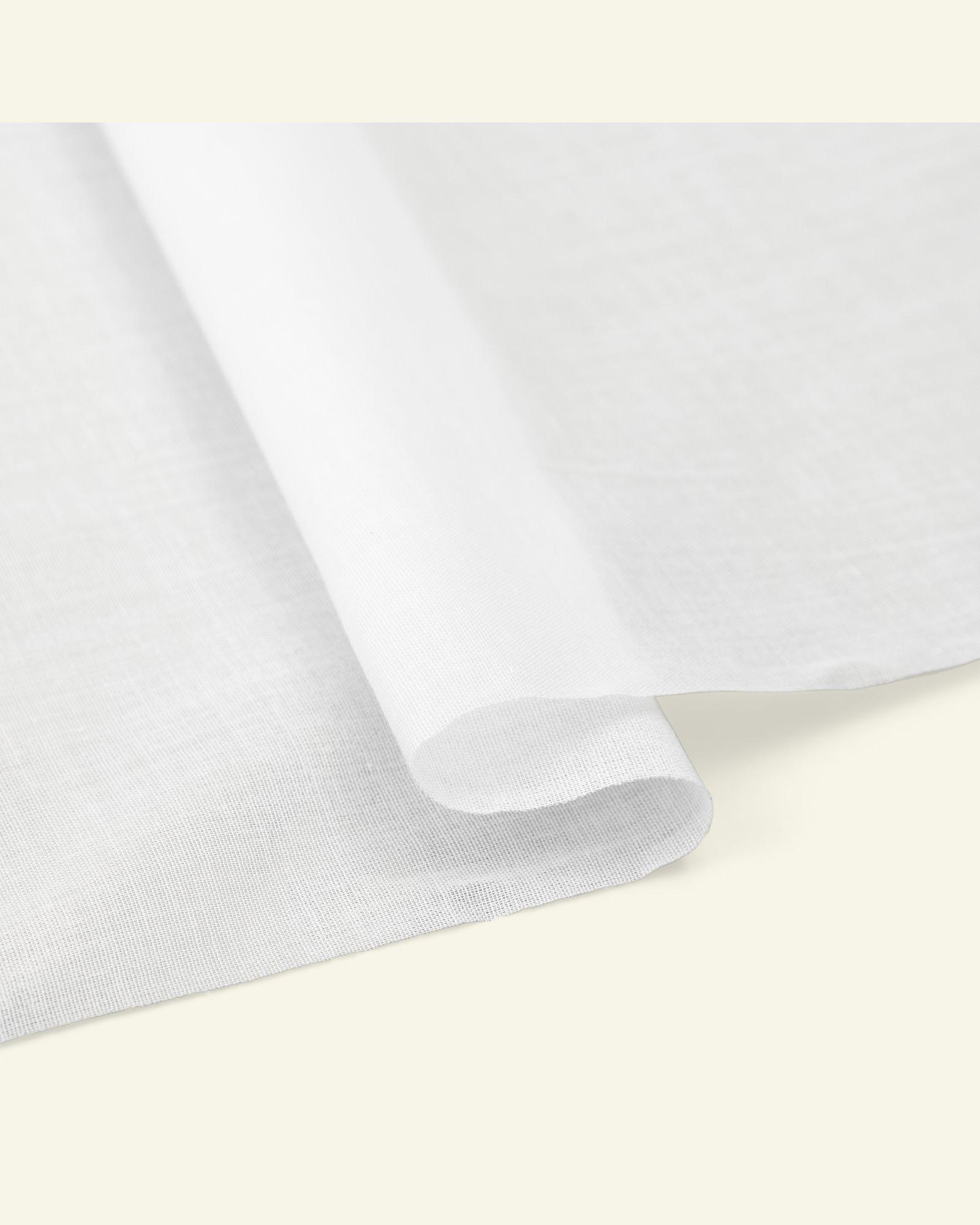 Interlining woven white ironing lightwei