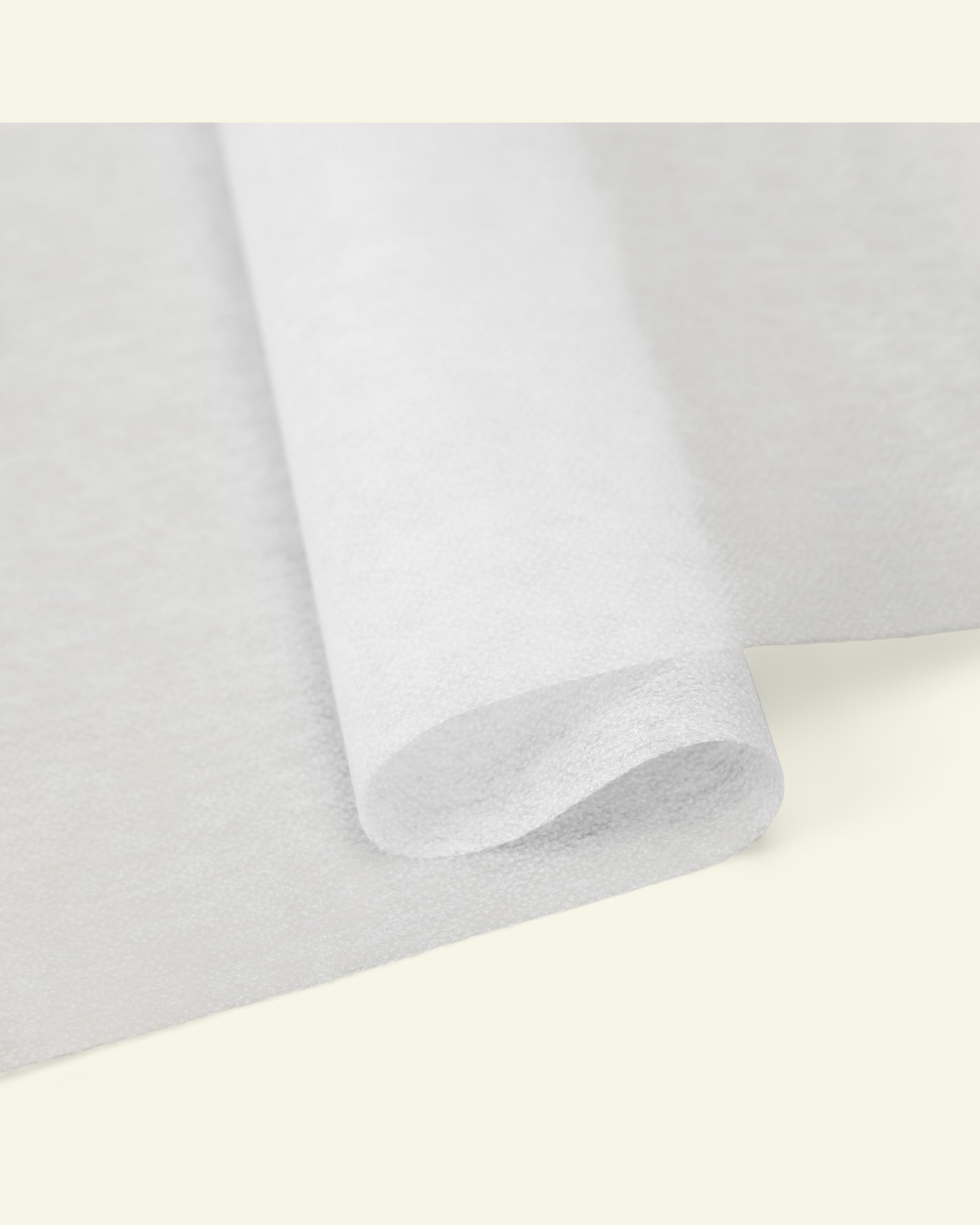 Interlining woven white for ironing 90cm