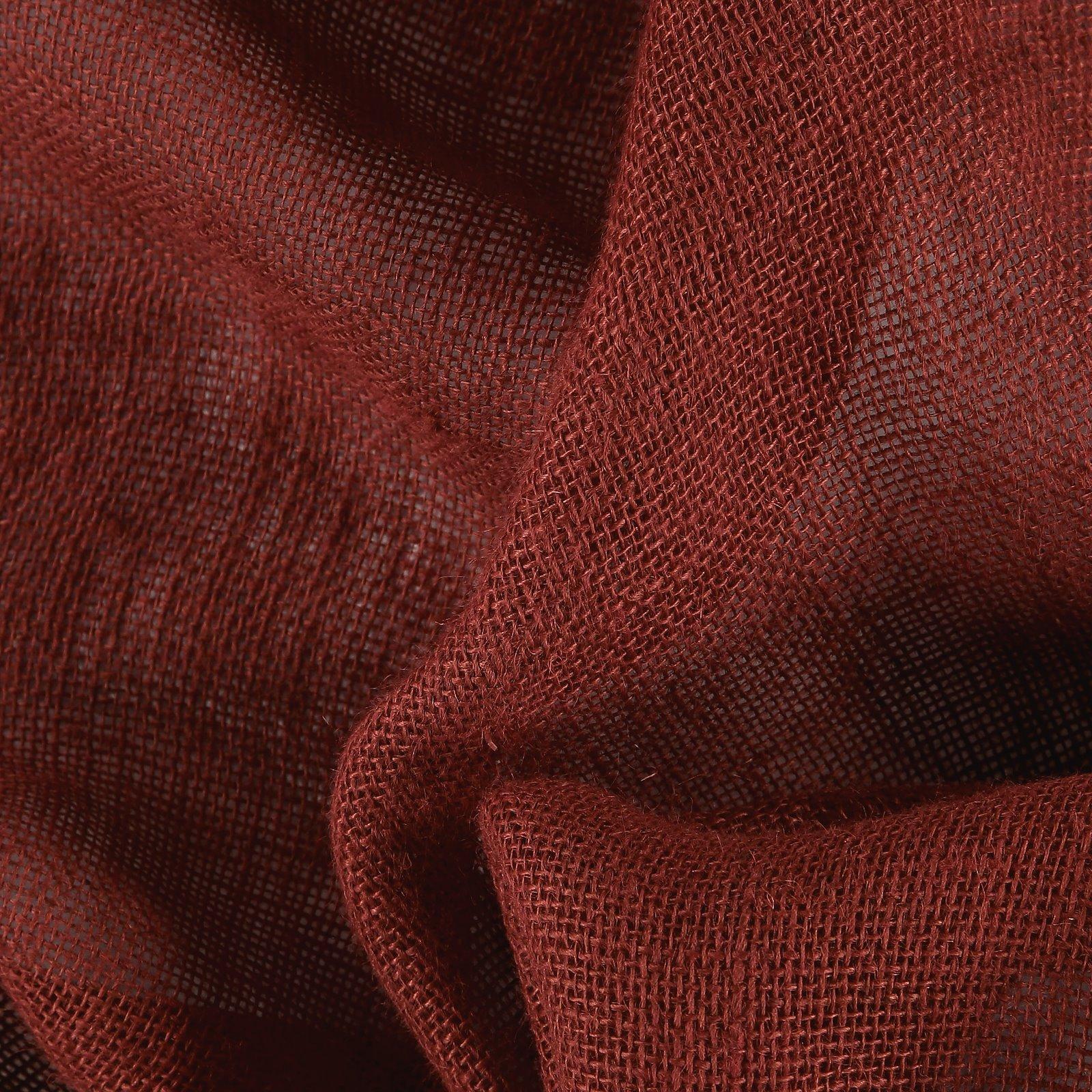 Coarse hessian classic red