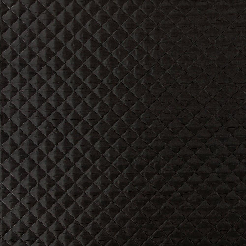 Quilt Polyester/Nylon Schwarz