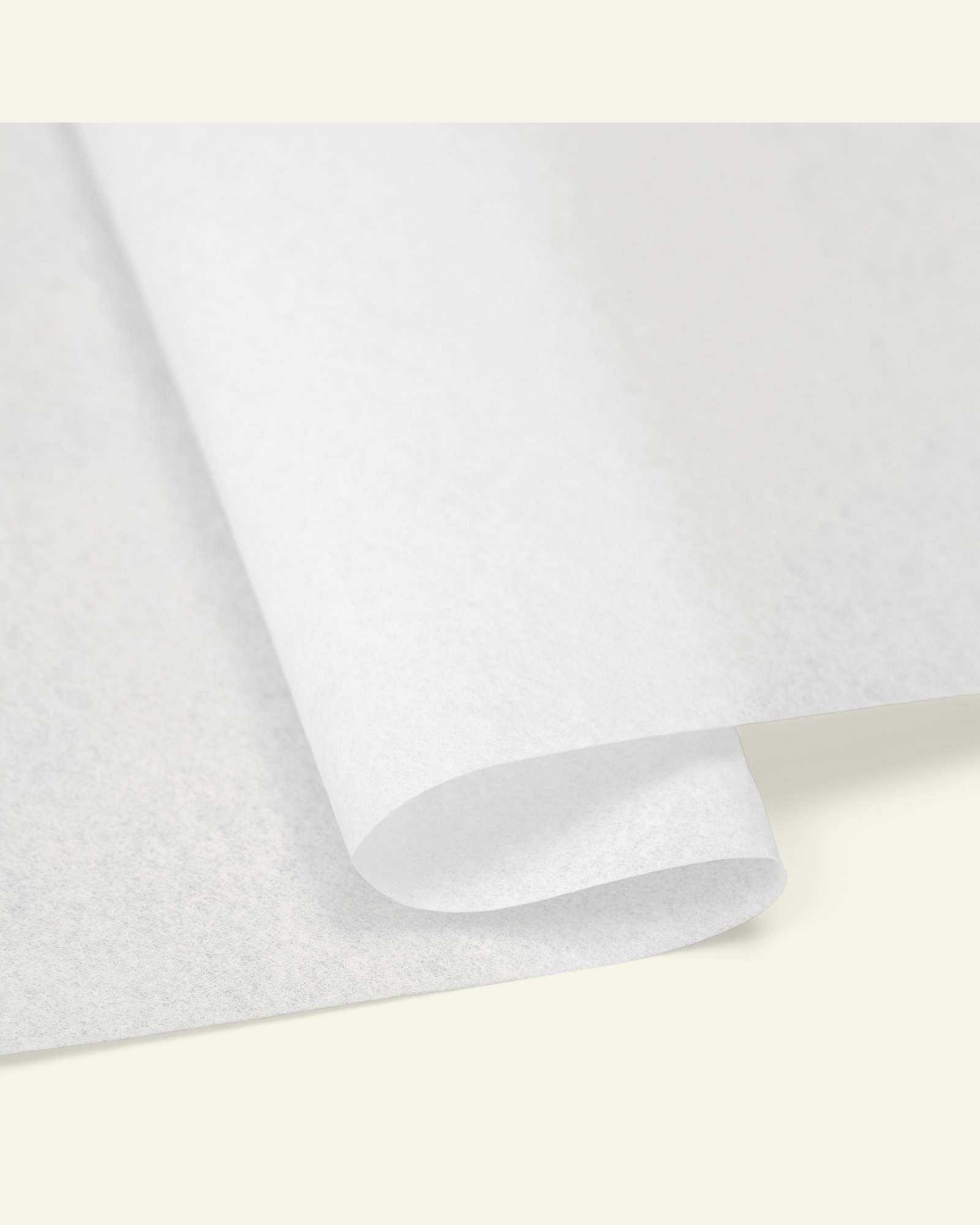 Embroidery easy tear backing white