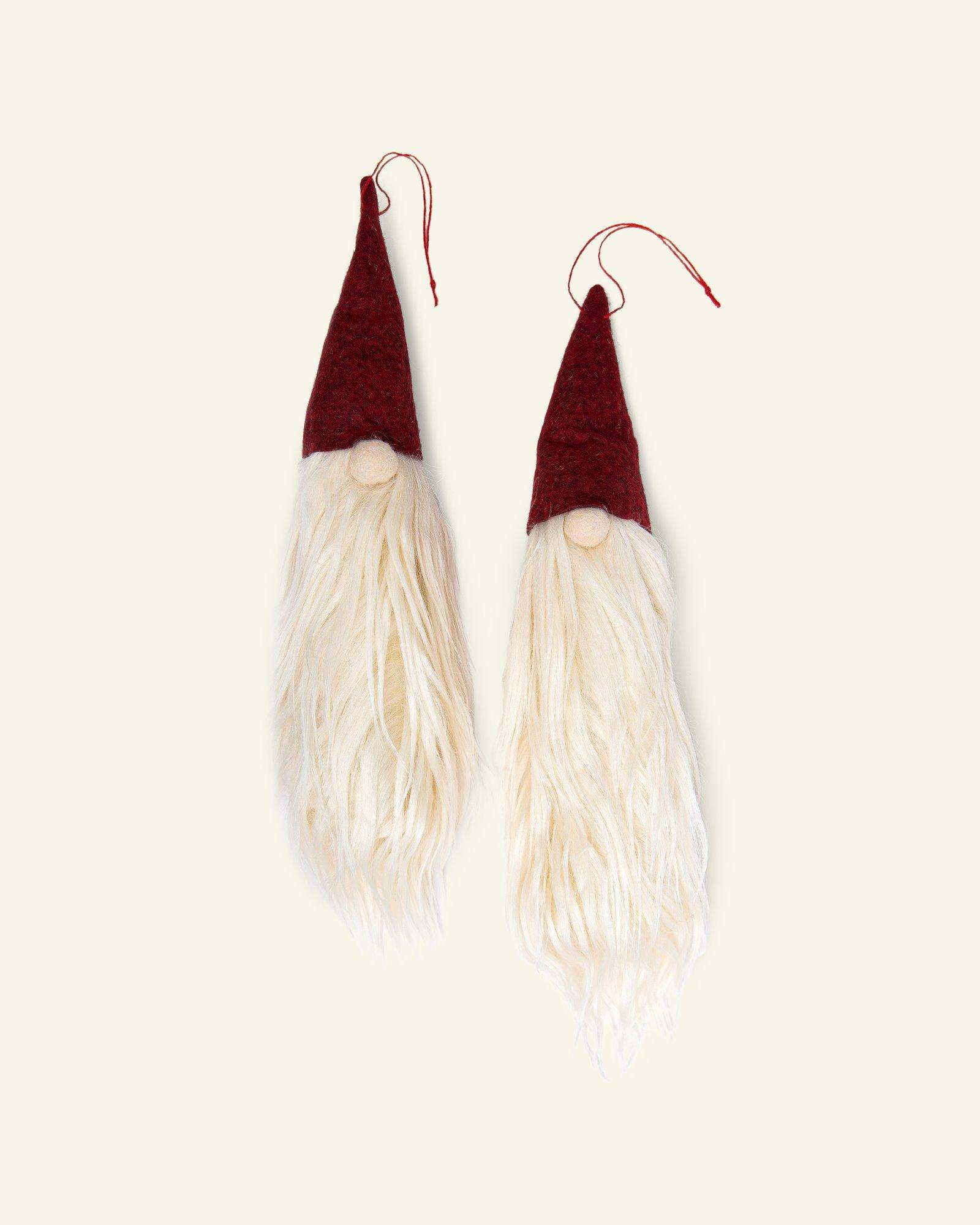 Kit hanging elf w/beard 23cm 2pcs