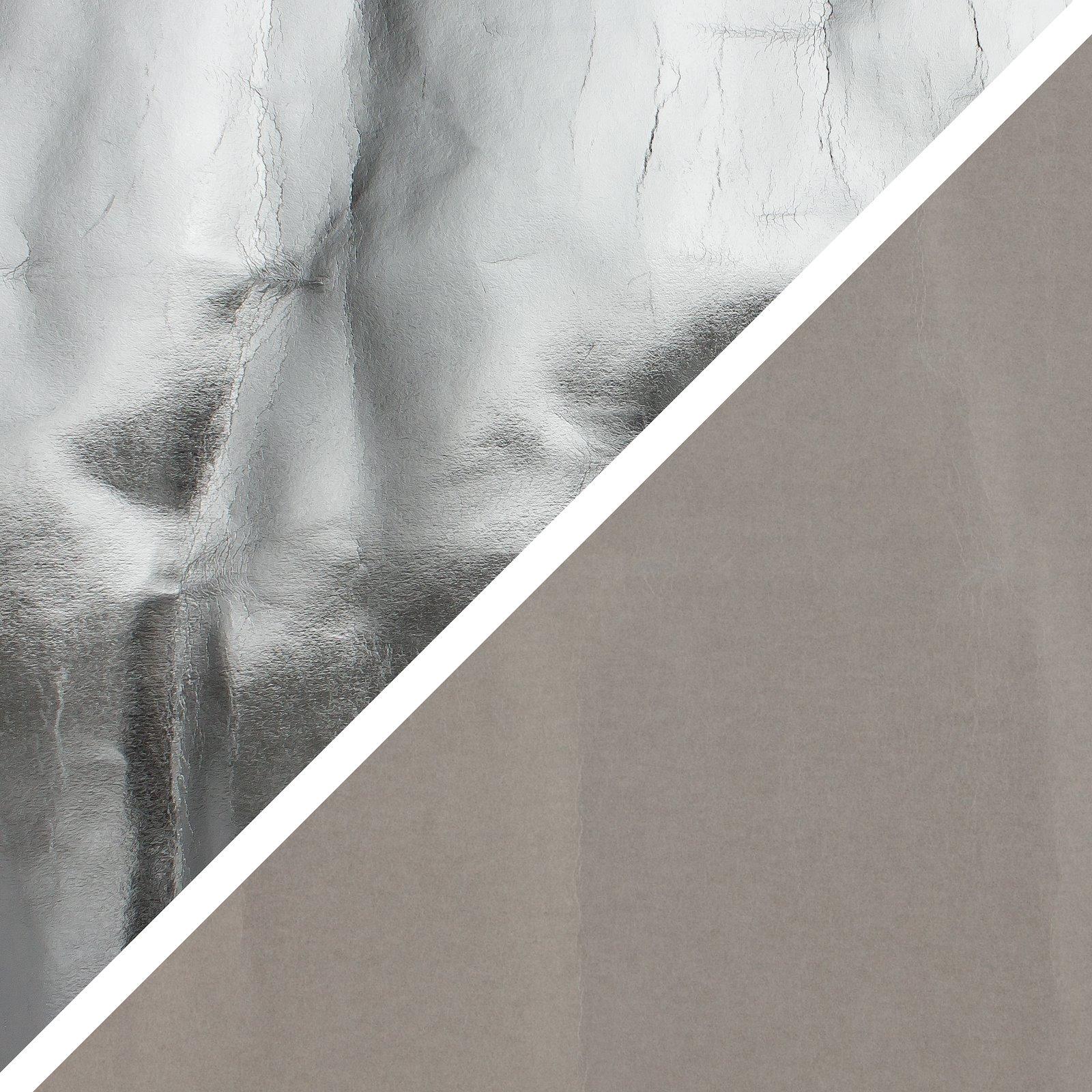 PAP FAB Silber/grau, 72x100cm