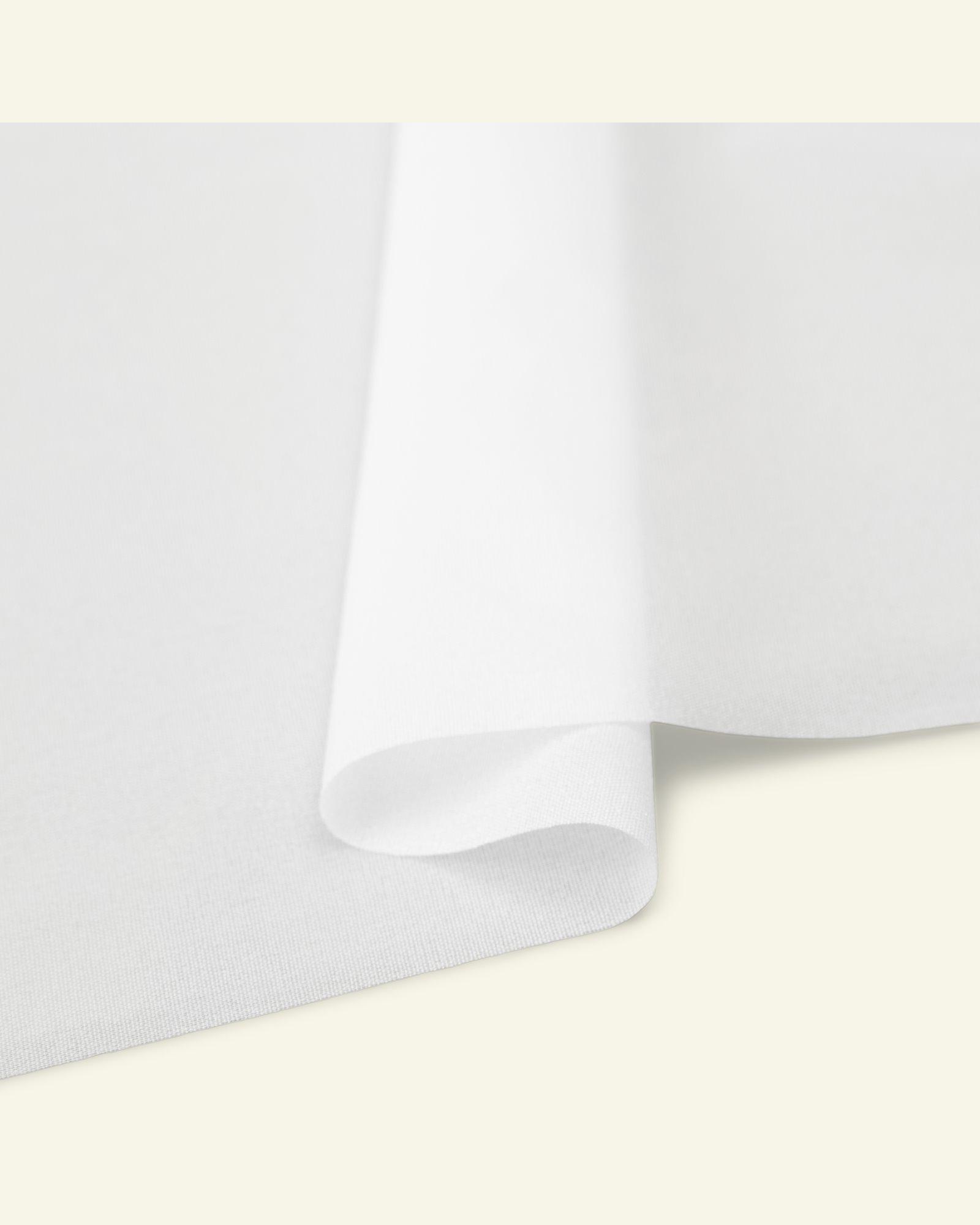 Light nonwoven interlining white 90cm