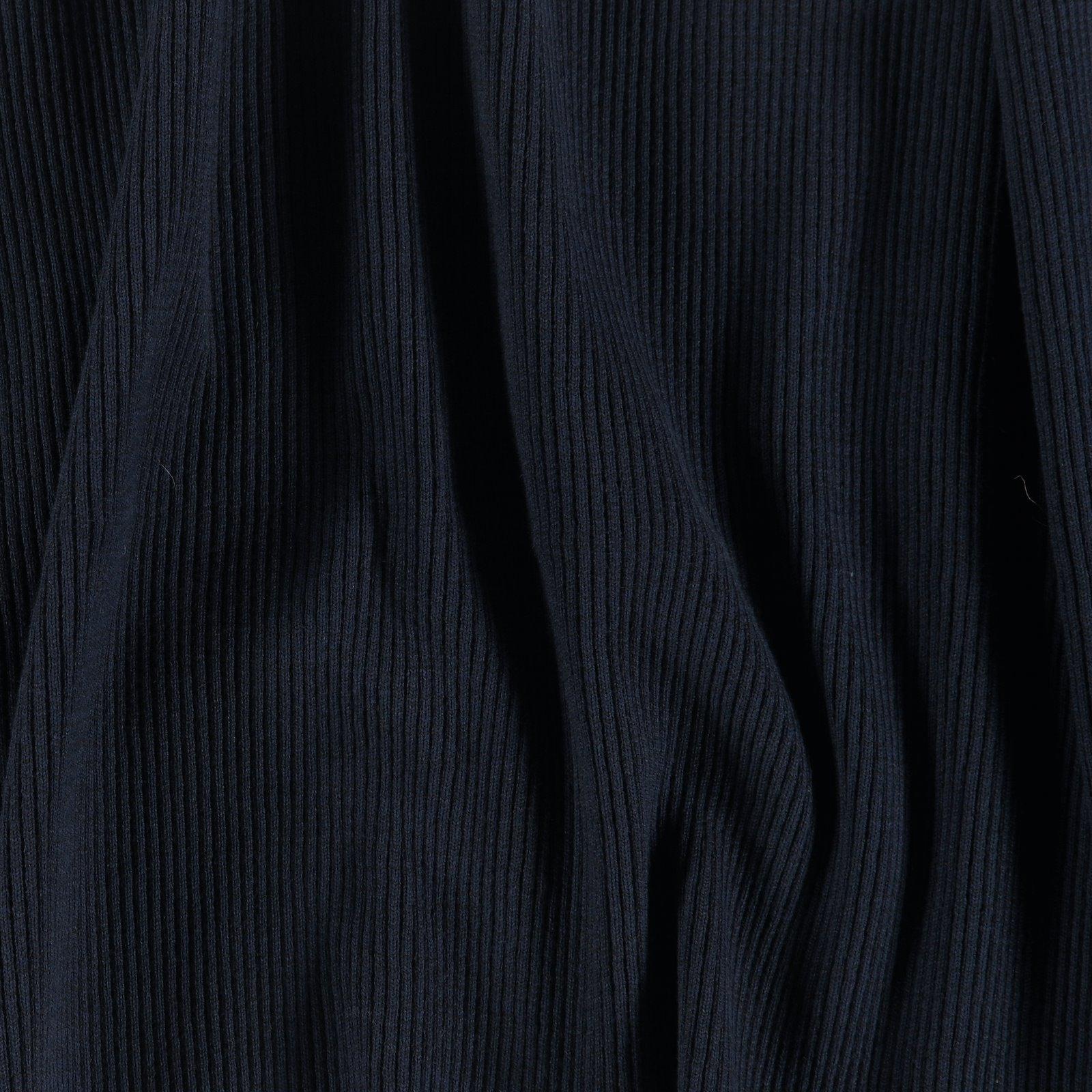 Rib-Jersey 2x2, 30x100cm navy, 1 St.