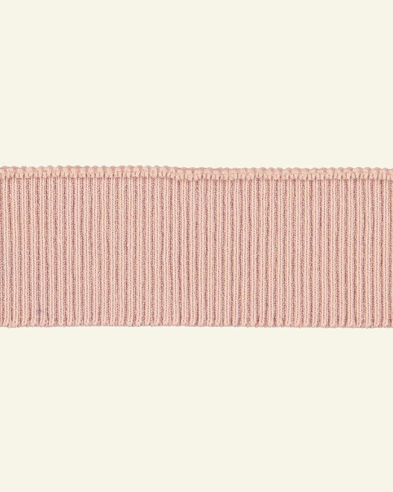 Rib-Jersey 2x2, 6x90cm Puder, 1 St.