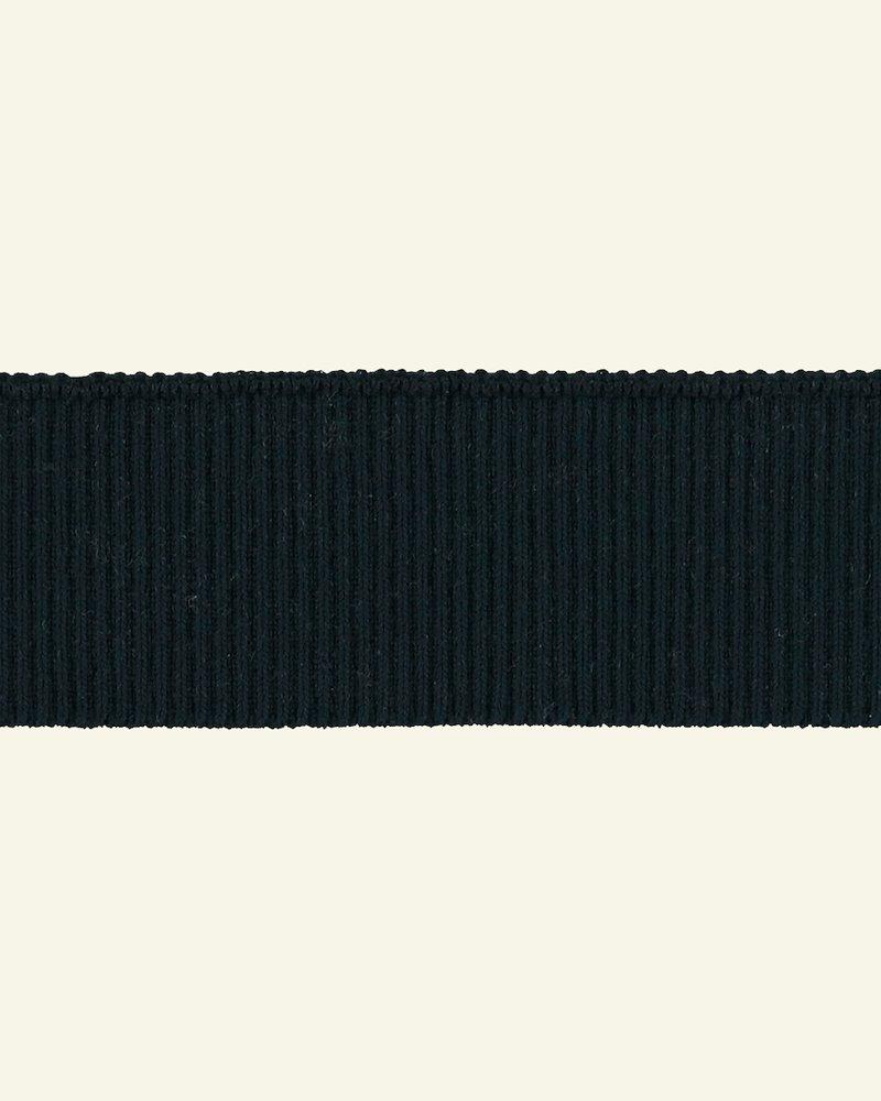 Rib-Jersey 2x2, 6x90cm Blau, 1 St.