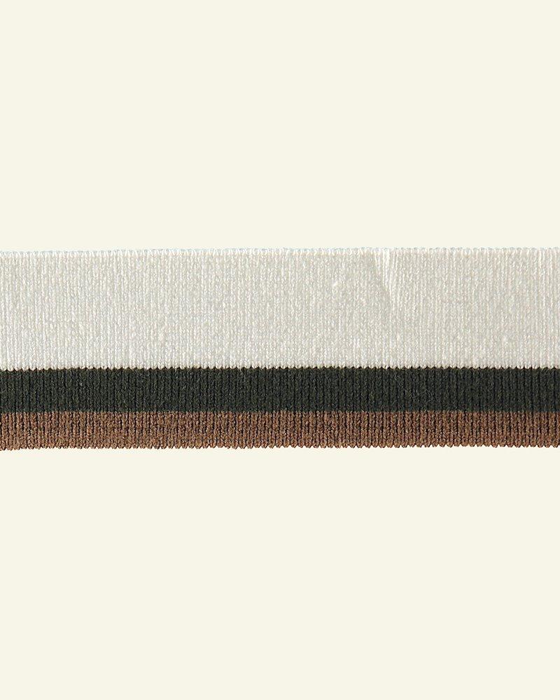 1x1 Rippe 3,2x100cm Natur/Oliv/Braun,St.