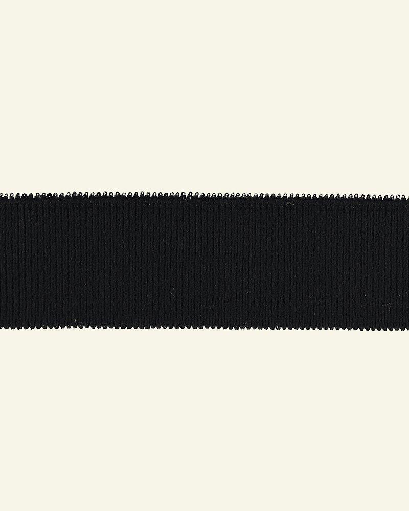 1x1 Rippe 3,5x100cm Schwarz, St.