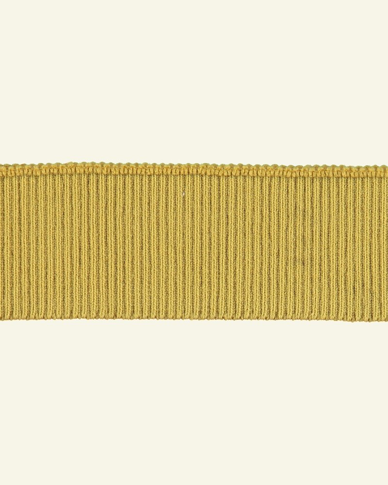 Rib-Jersey 2x2, 6x90cm Curry, 1 St.