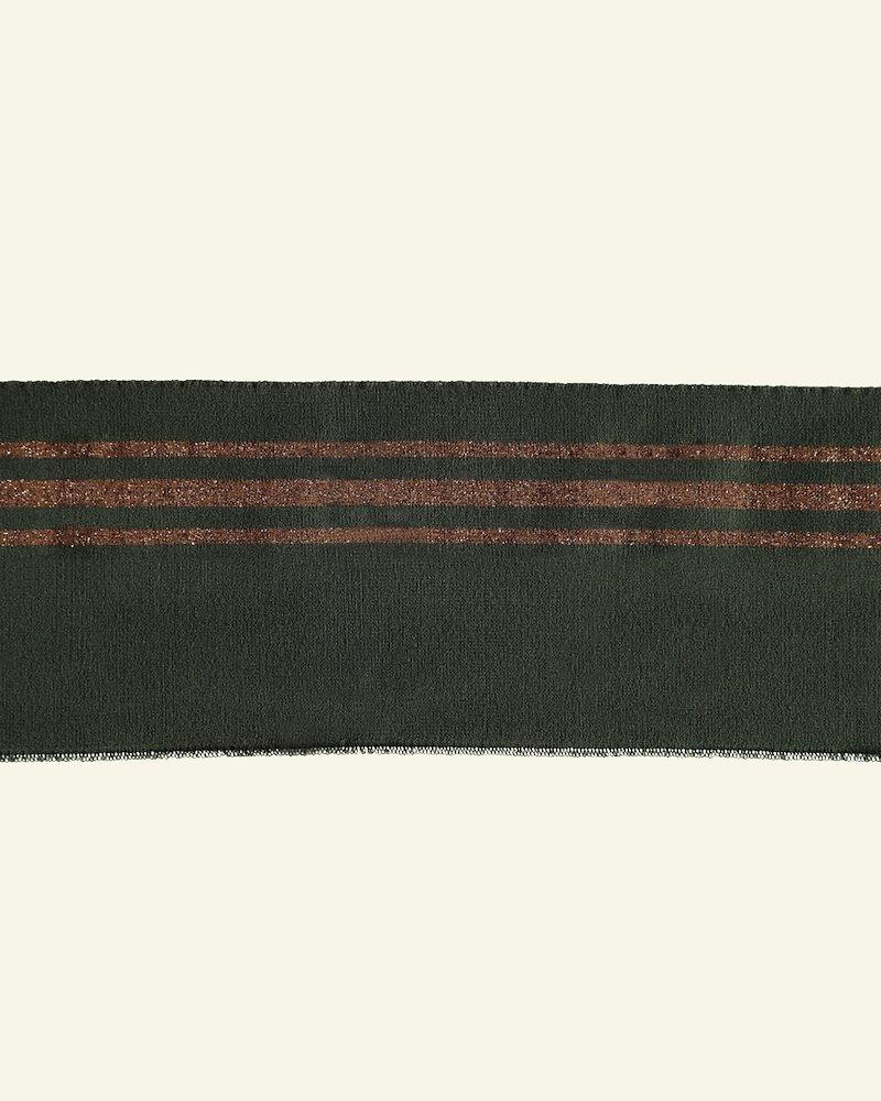 1x1 Faltenrippe 12x100cm Army/Br. Lurex