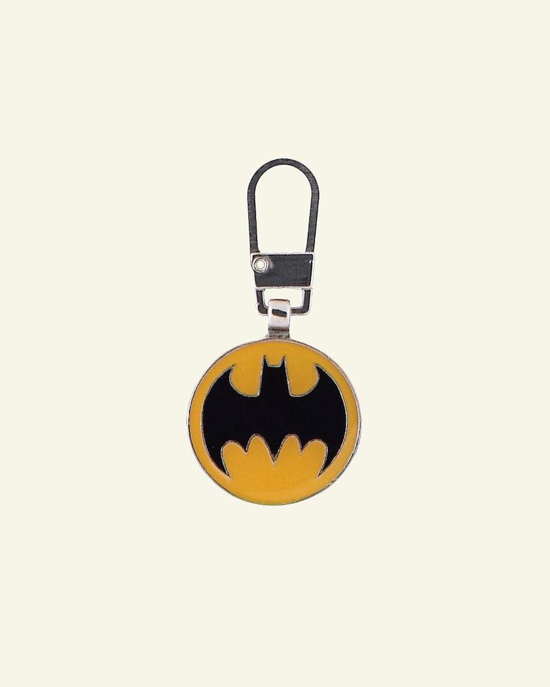 Zipper-pendant BATMAN 20x20mm 1pc