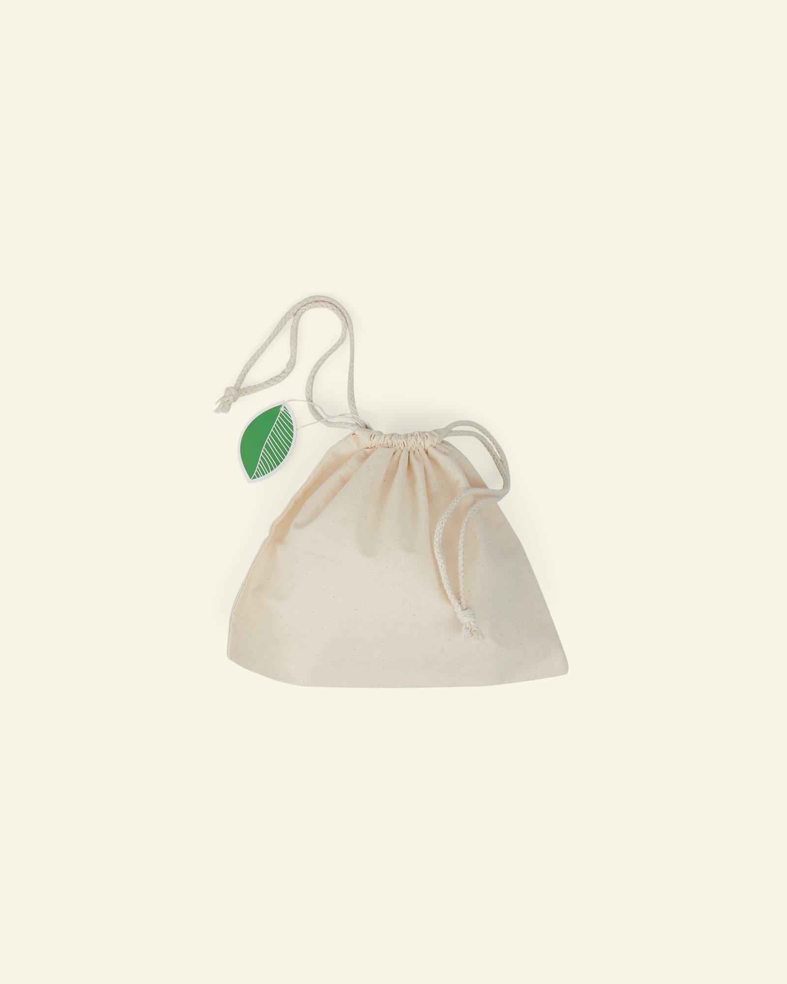 Organig drawstring bag 25*20 cm