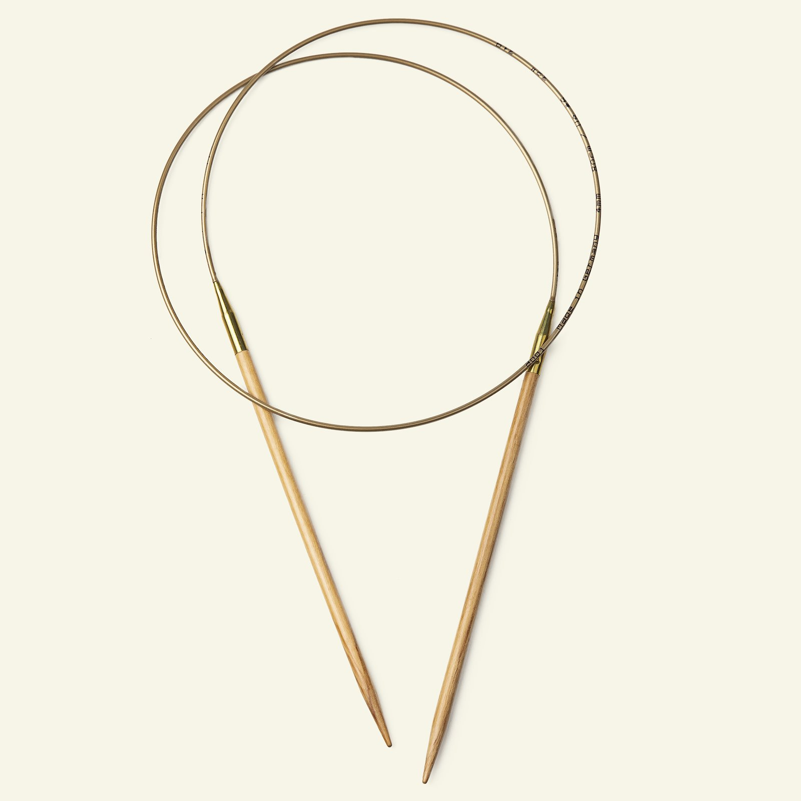 Addi circular needle olive 80cm 6,5mm 83149_pack