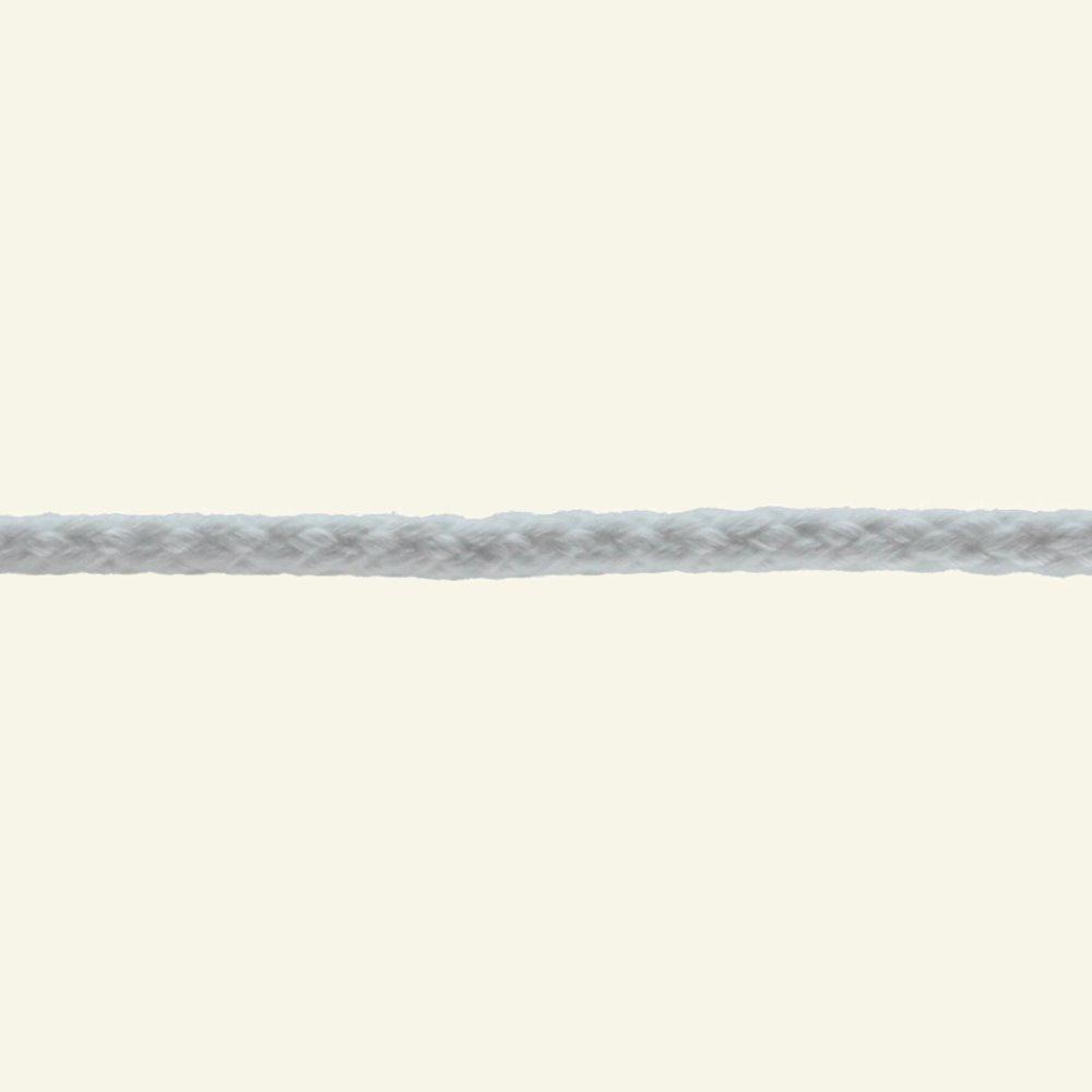 Anorak cord 4.5mm white 5m 75201_pack