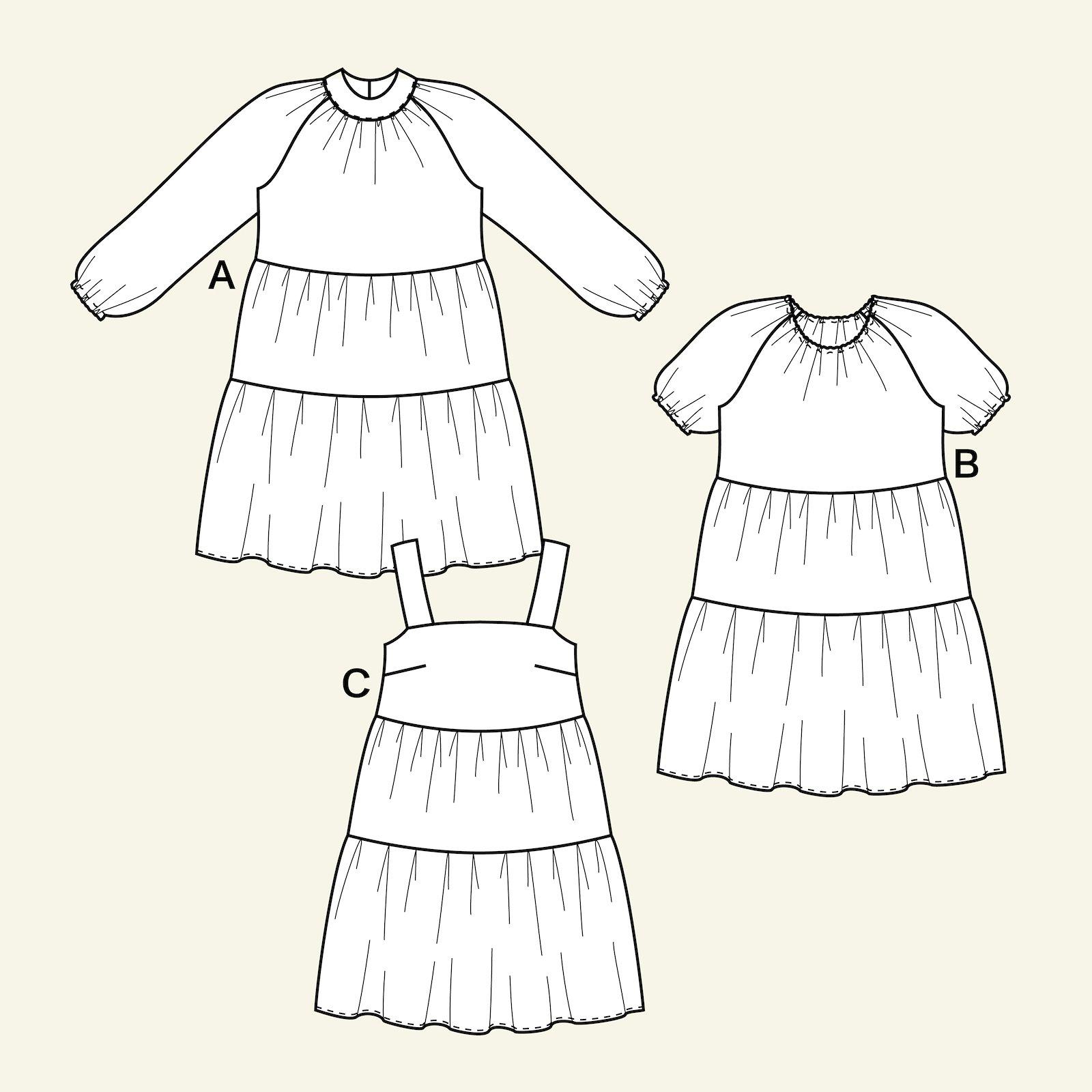 Babydoll dress, 36/8 p23168_pack