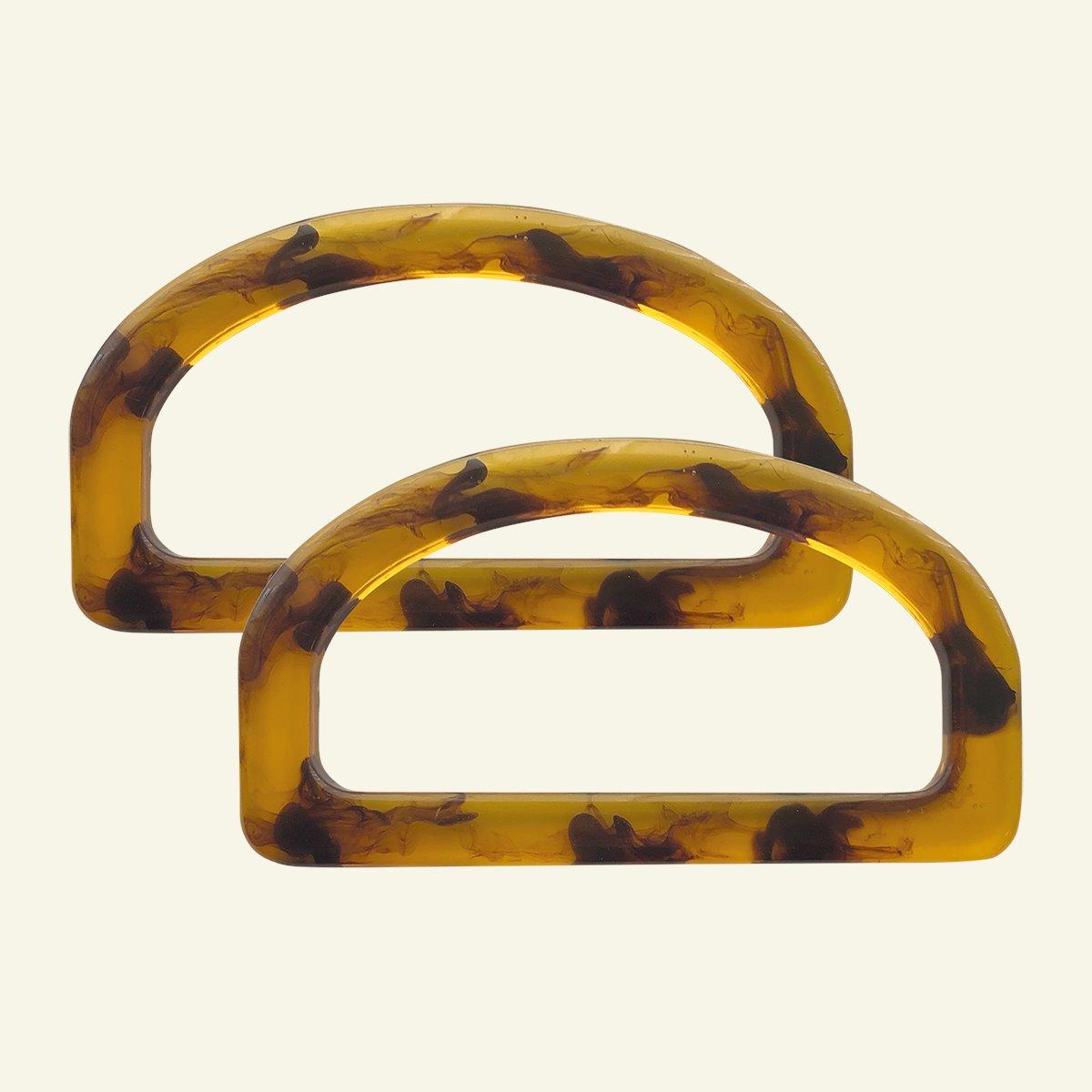 Bag handle resin 14x7,5cm 2pcs 46315_pack