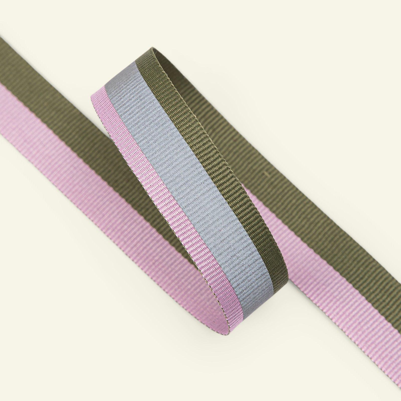 Band, Reflexeffekt 20mm Violett/Lime, 2m 22200_pack