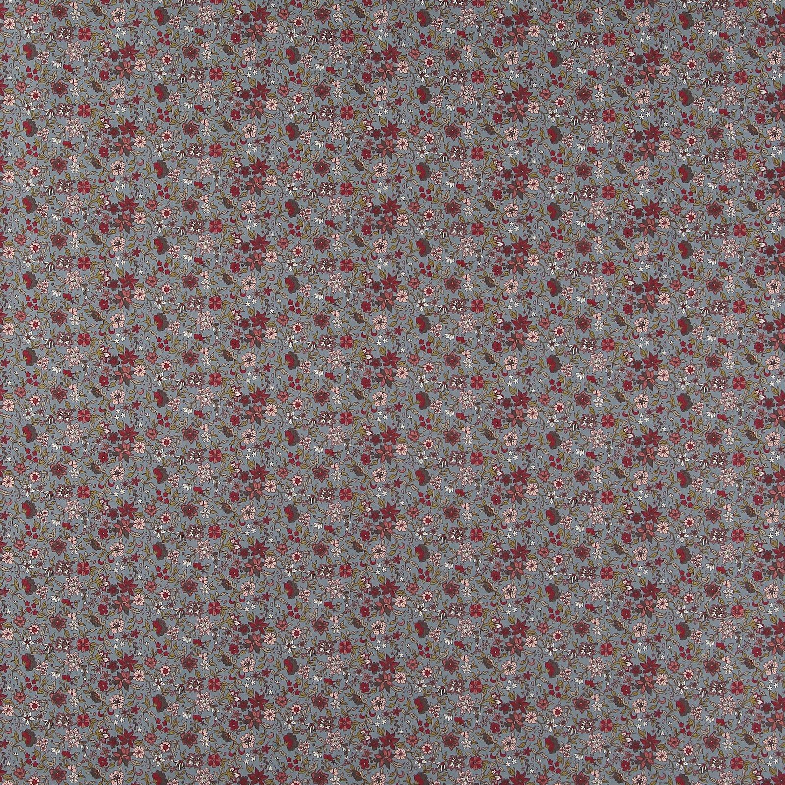 Baumwolle, Blaugrau mit Blumen 852403_pack_sp