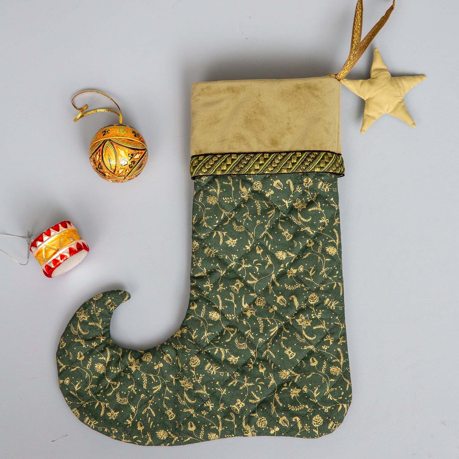 Baumwolle, Flaschengrün, Weihnachtsprint p90311_790140_824166_22335_22288_p90333_4221_35290_sskit
