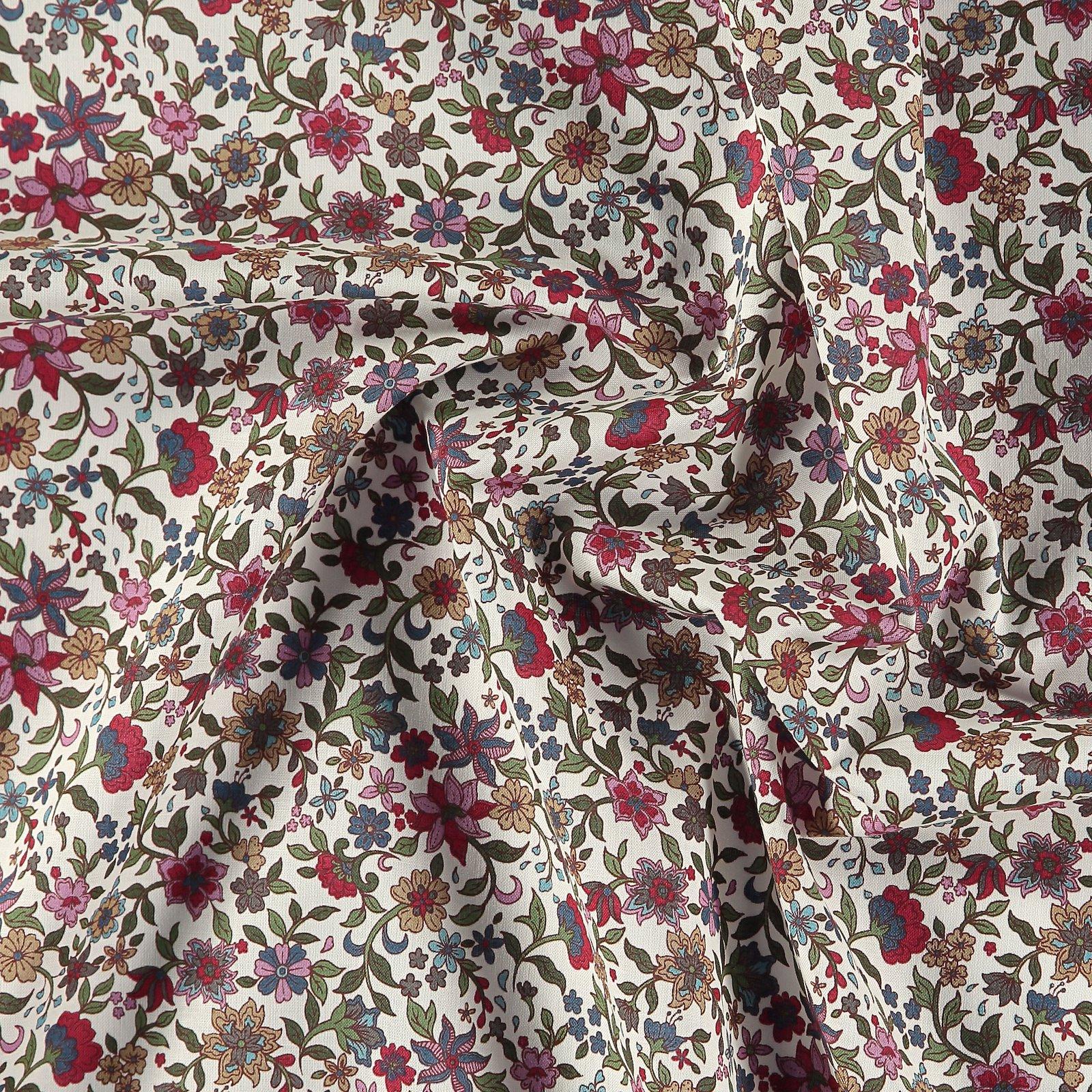 Baumwolle, Puder mit Blumen 852402_pack