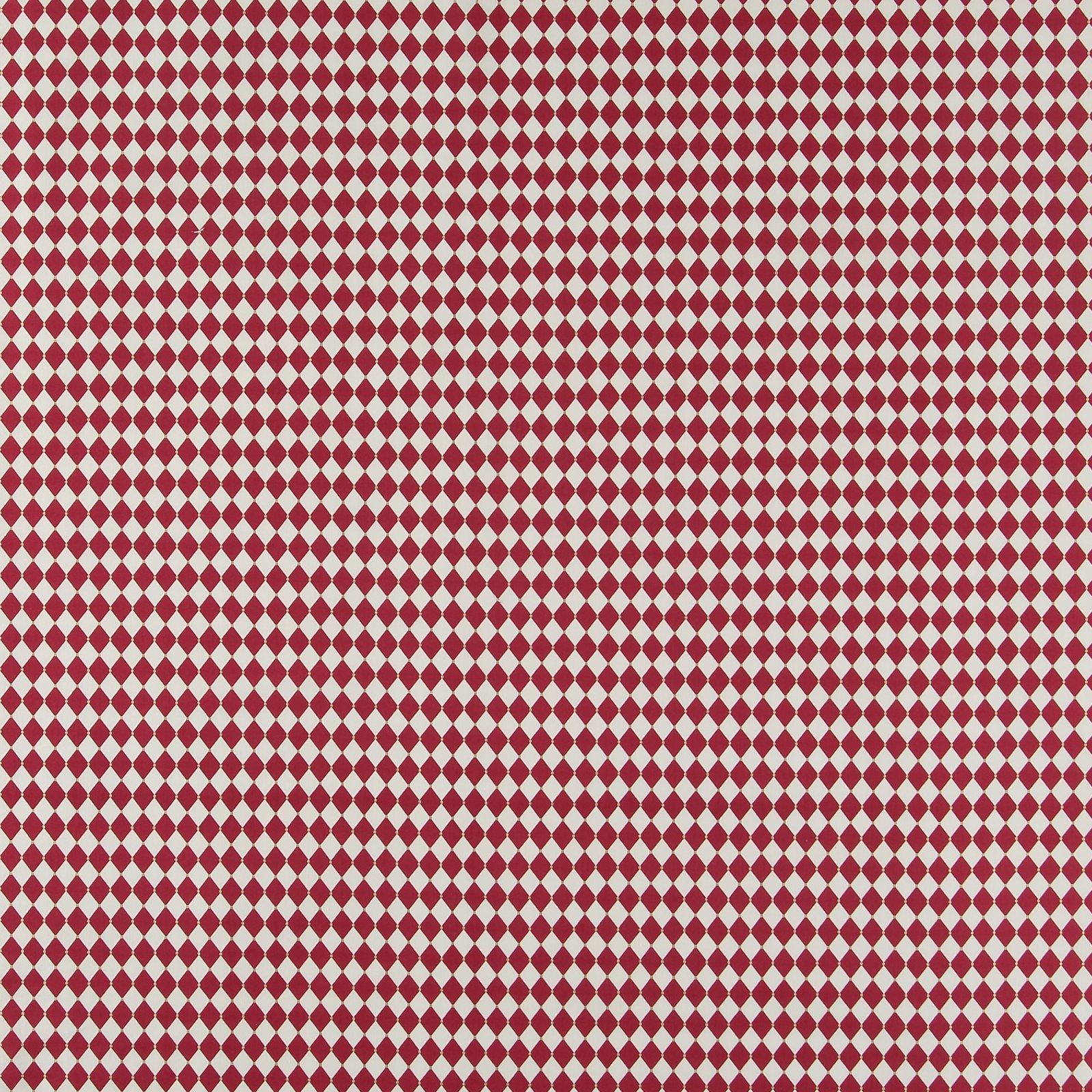 Baumwolle, Rot/Weiß Harlekin kariert 852395_pack_sp