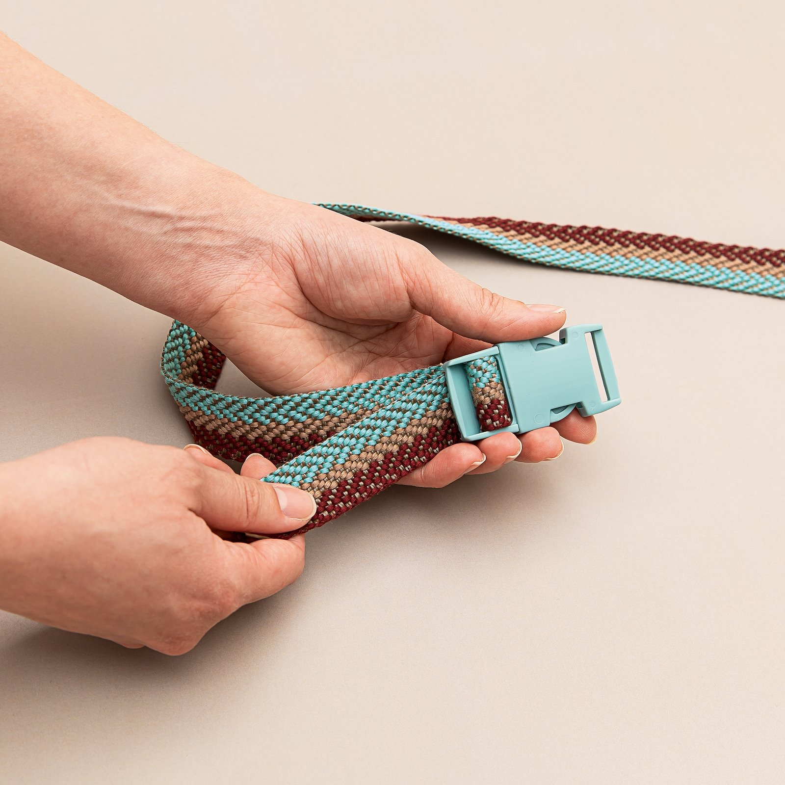 Belt buckle 25mm dusty aqua  1pc 22403_45203_bundle