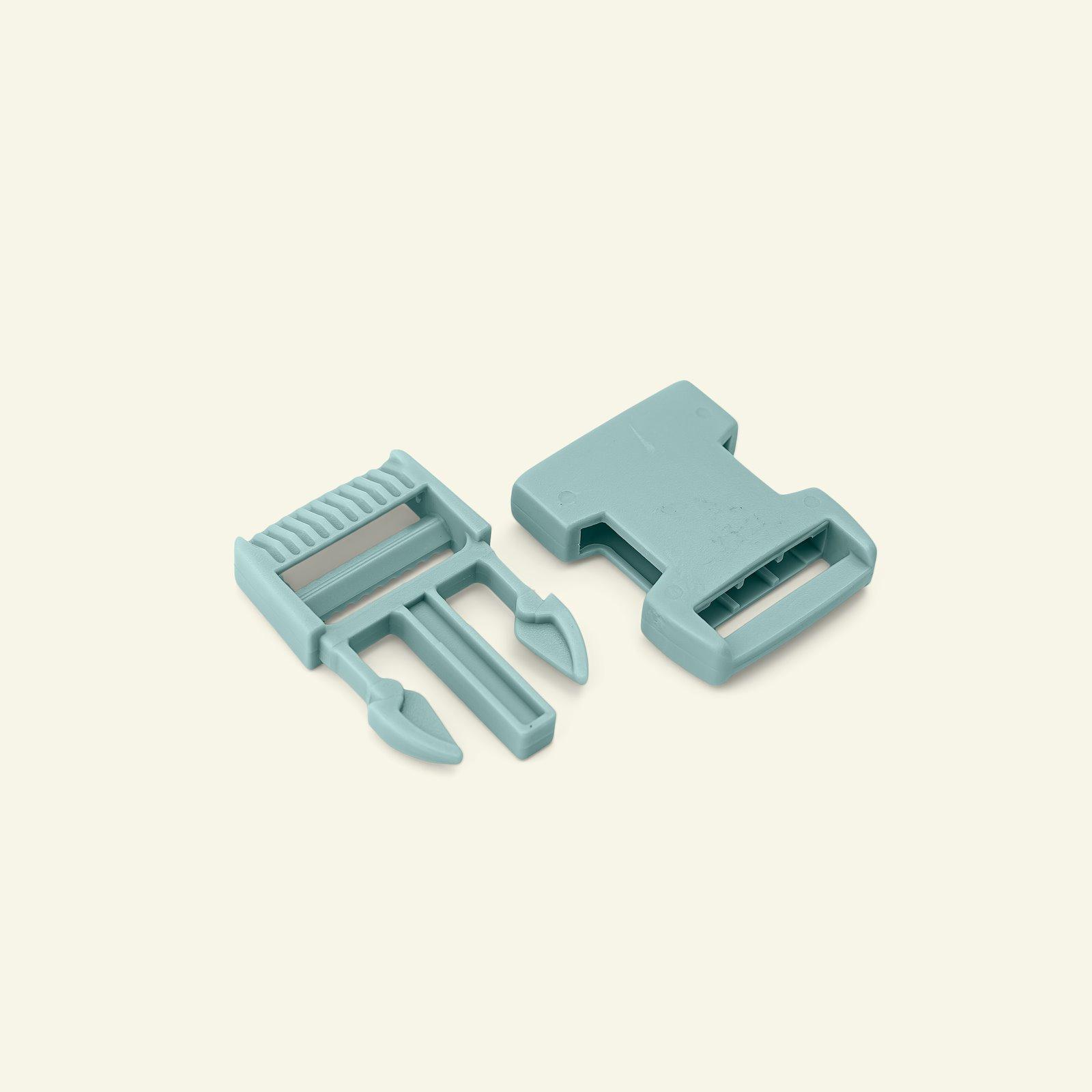 Belt buckle 25mm dusty aqua  1pc 45203_pack