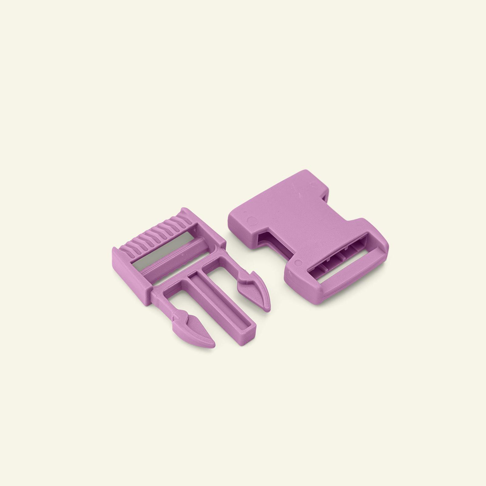 Belt buckle 25mm dusty violet 1pc 45201_pack