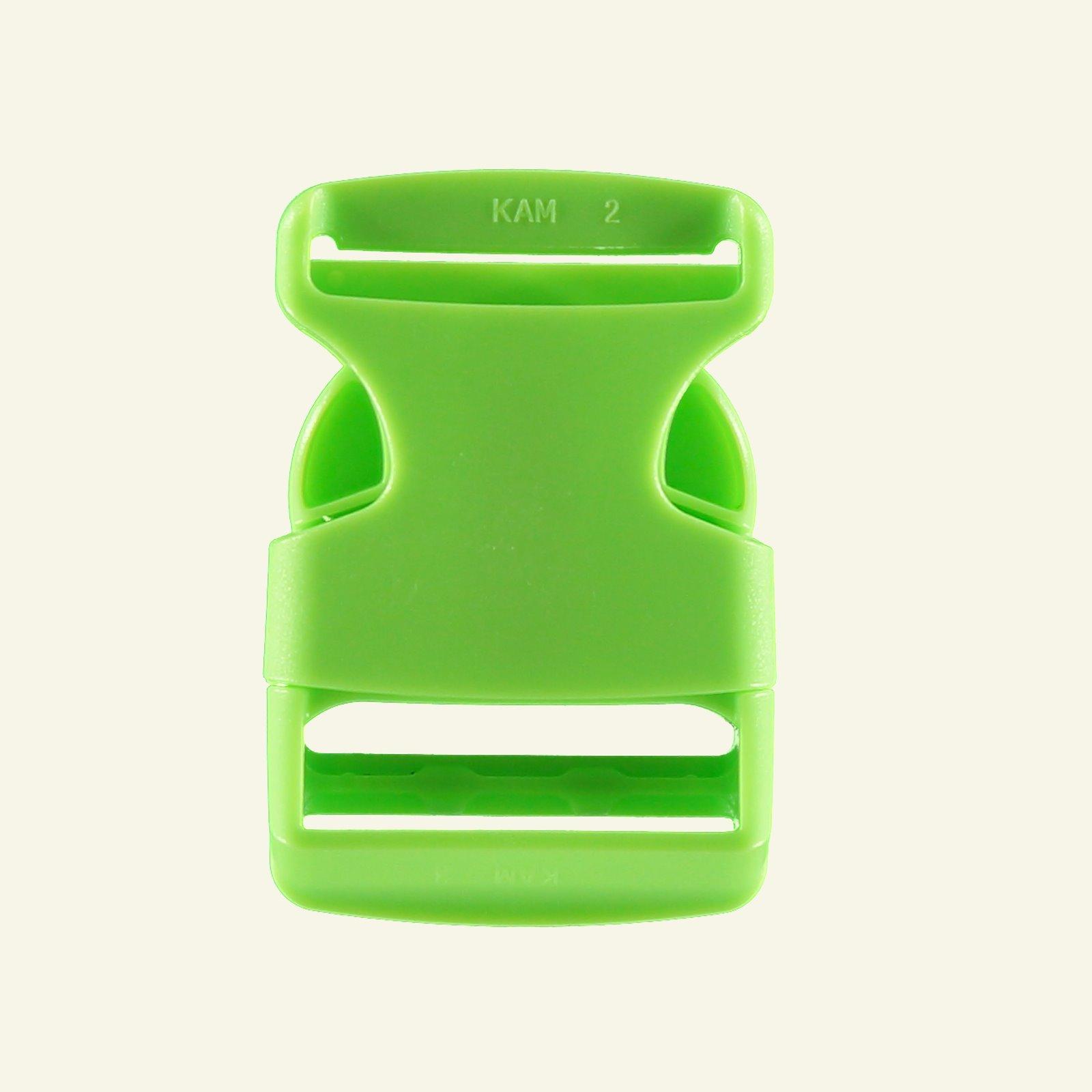 Belt buckle 38mm neon green 1pc 43246_pack