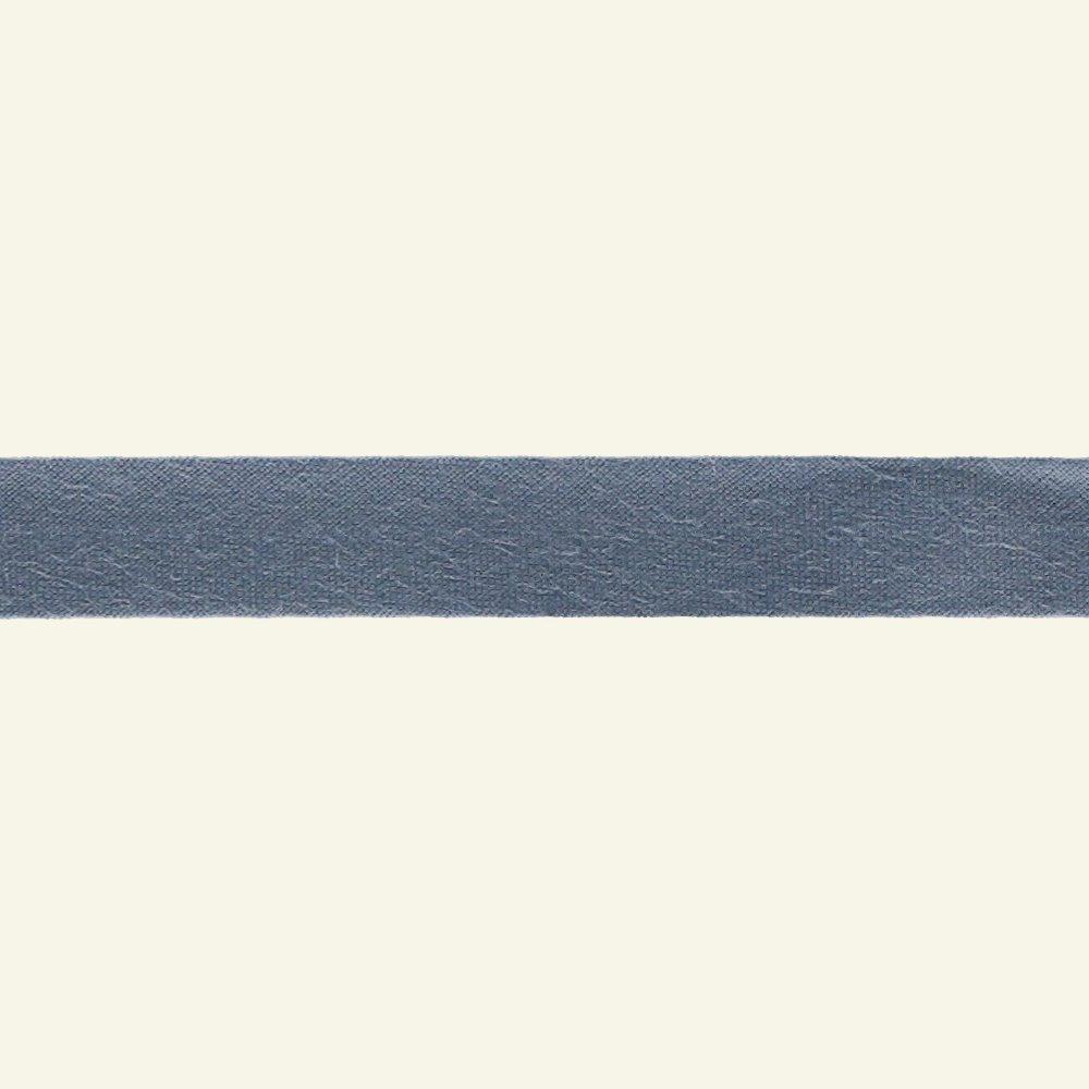 Bias tape cotton 13mm dusty blue 5m 65004_pack