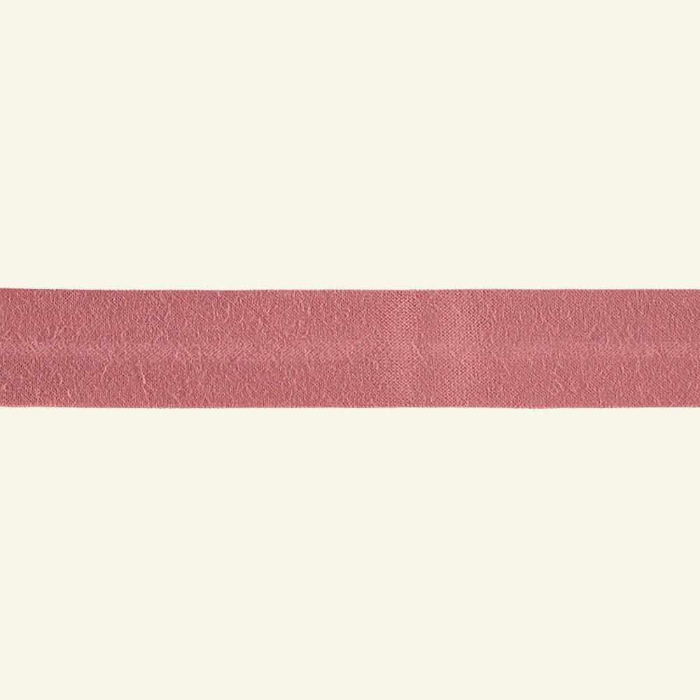 Bias tape cotton 18mm bright rose 25m 68012_pack