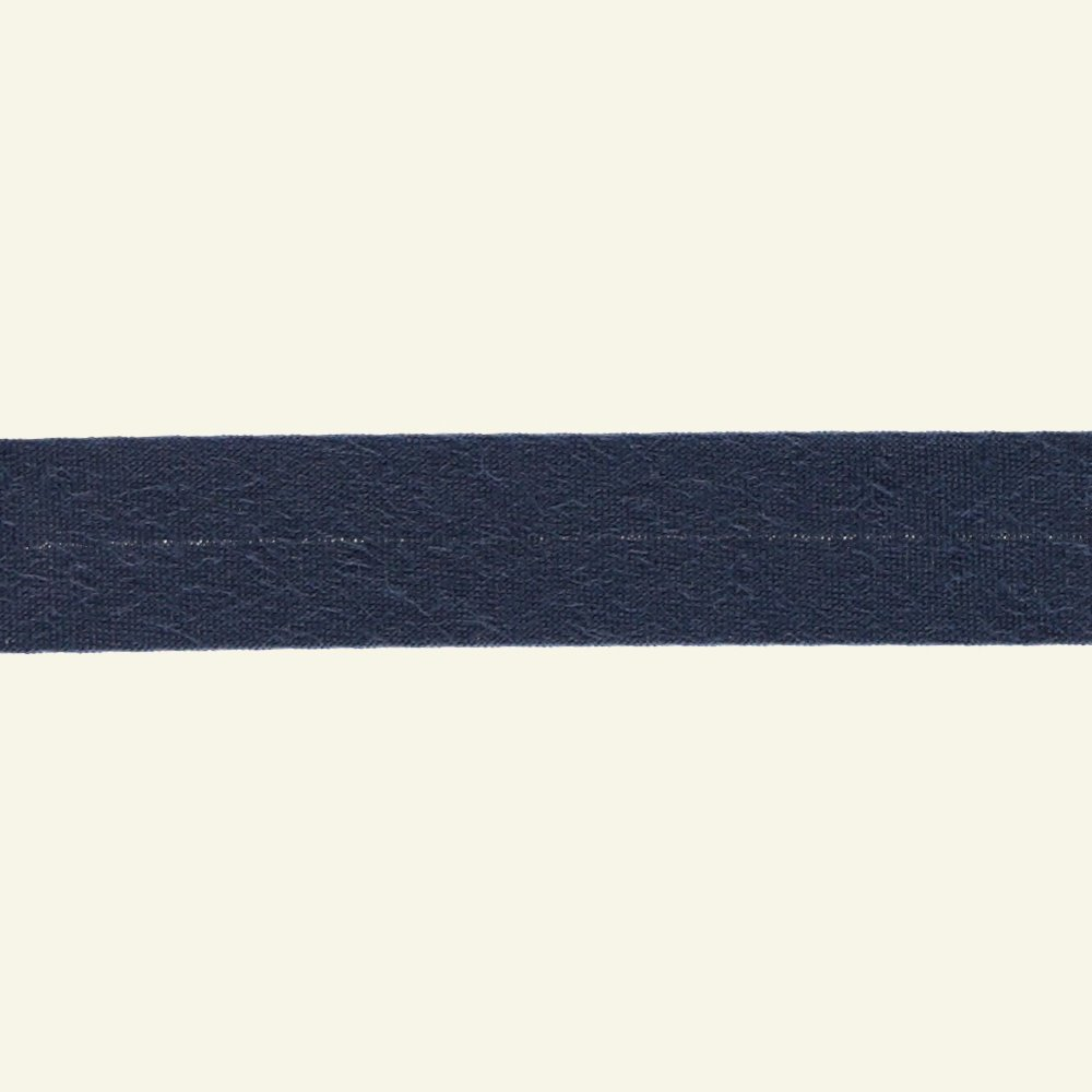 Bias tape cotton 18mm dusty blue 25m 68004_pack