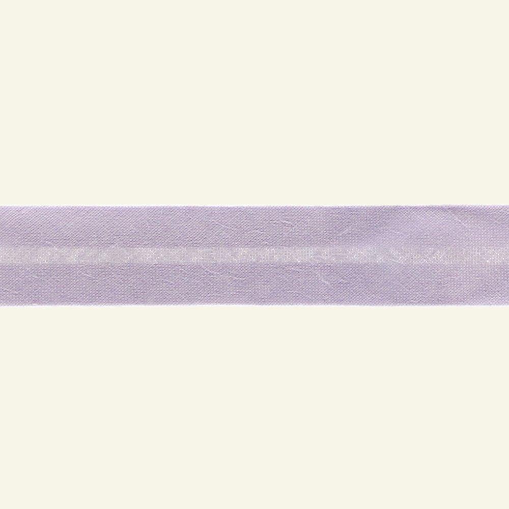 Bias tape cotton 18mm light purple 25m 68018_pack