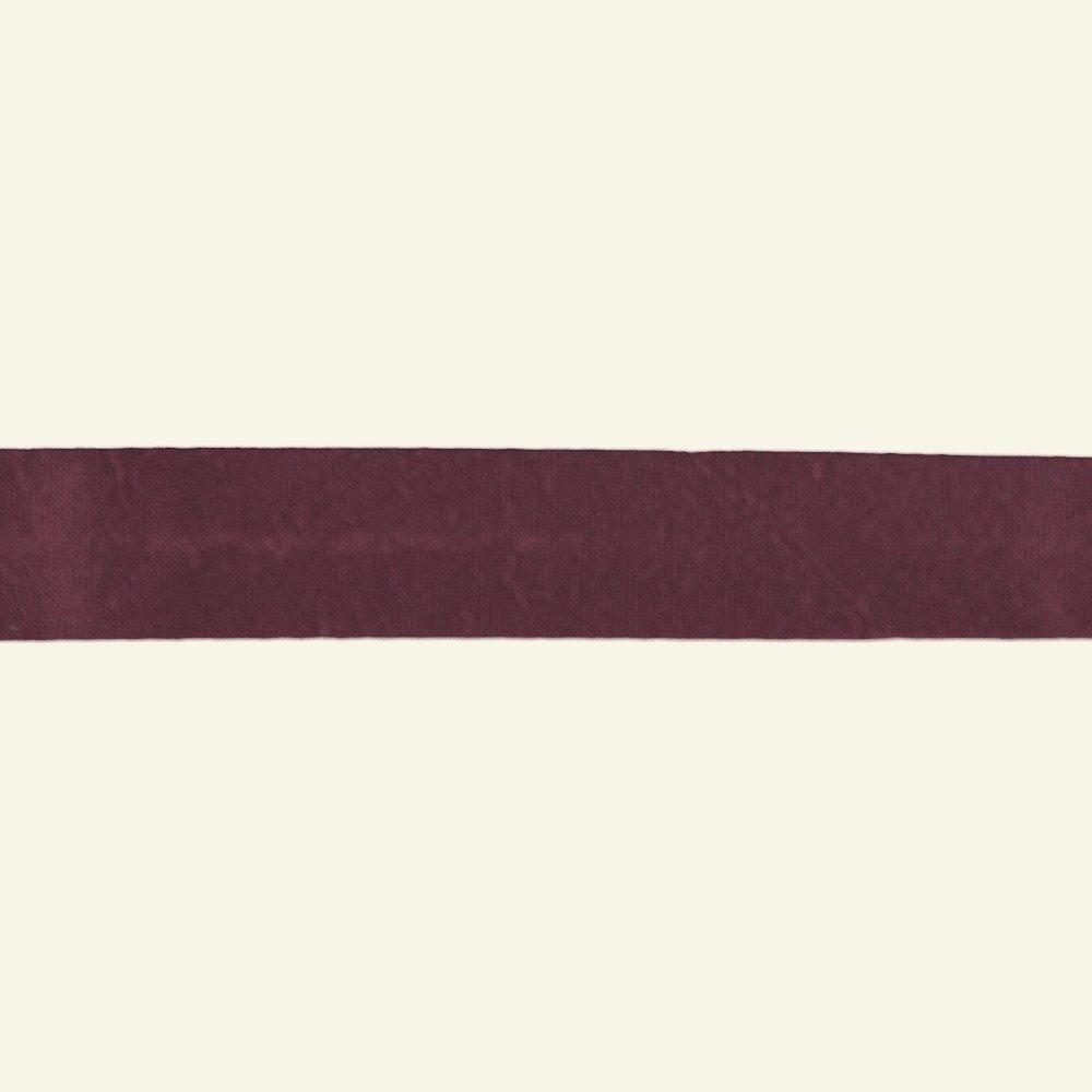 Bias tape cotton 18mm plum 25m 68016_pack