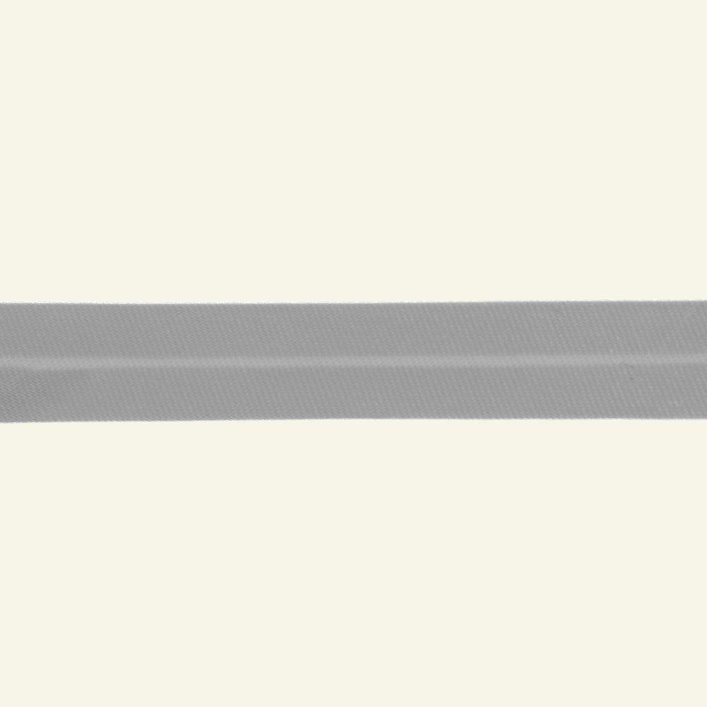 Bias tape satin 13mm light grey 5m 60040_pack