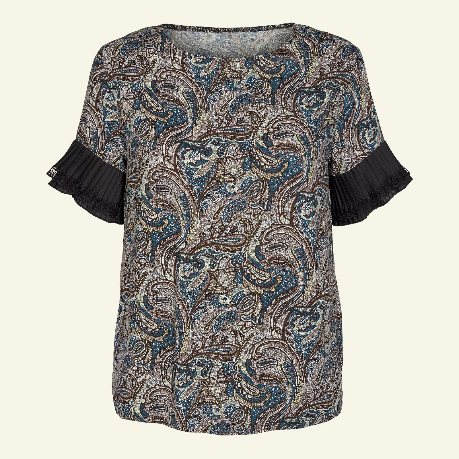 Blouse with flounce, 46/18 p22061_710632_96323_sskit