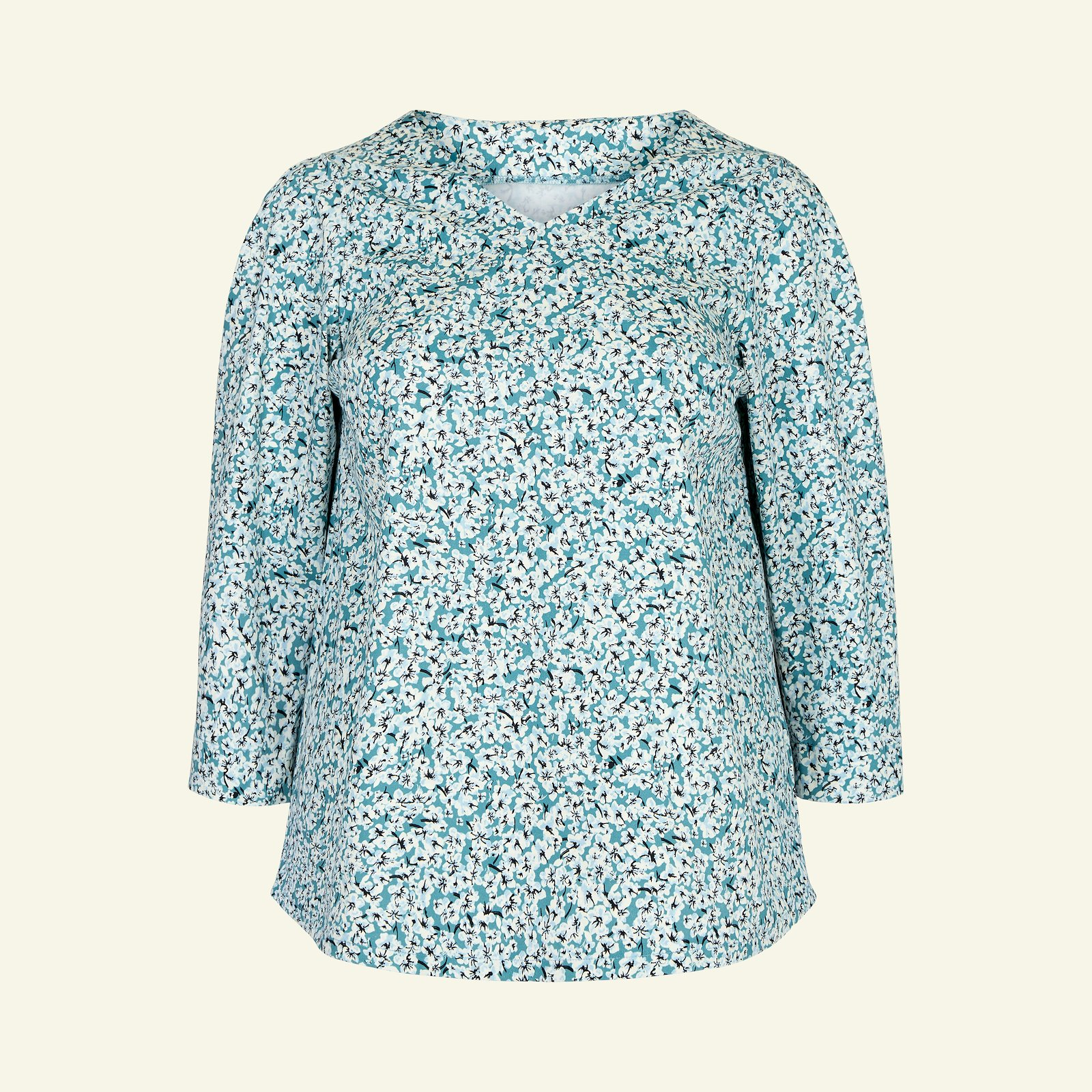 Blouse with long and short sleeve, 58/30 p72006_460860_sskit