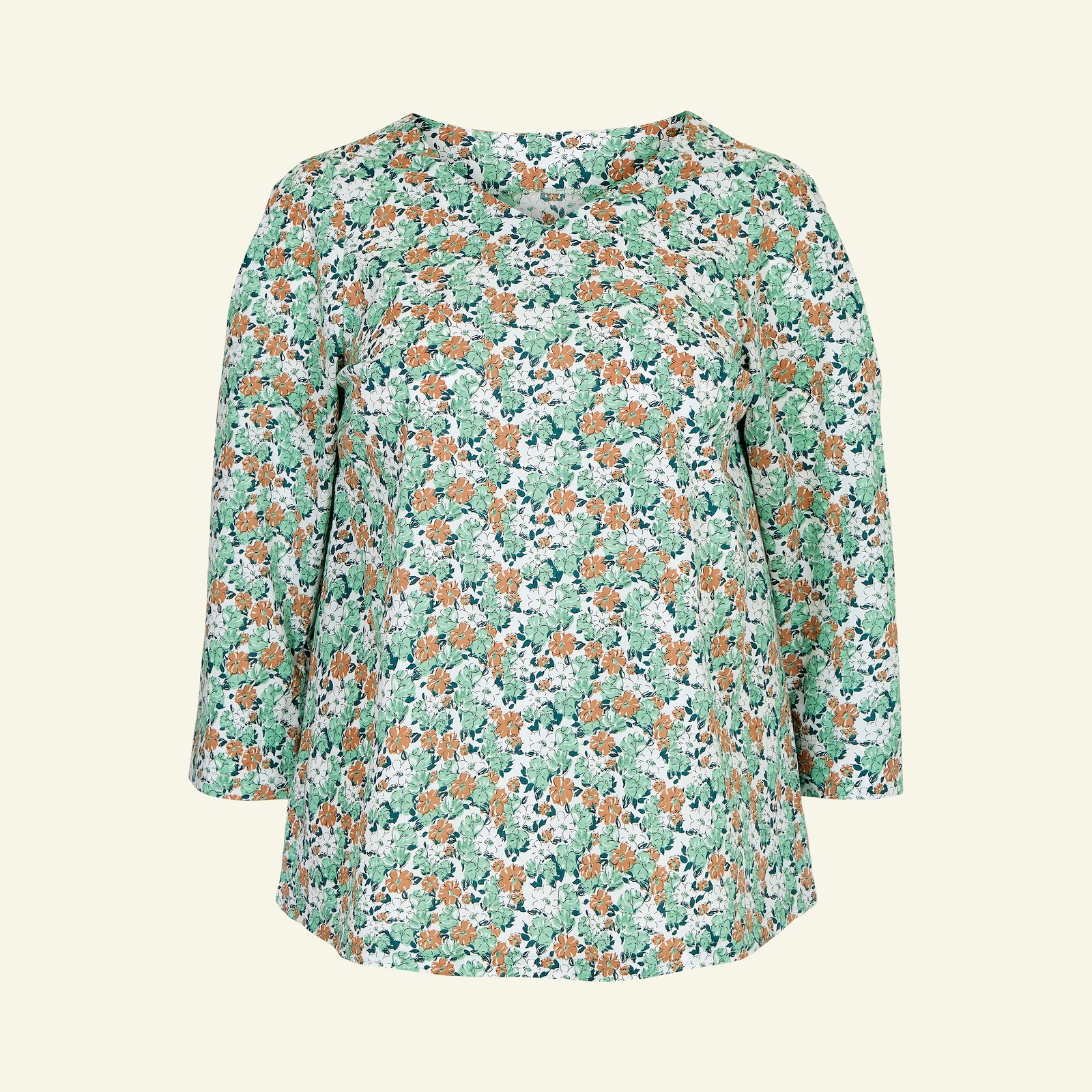 Blouse with long and short sleeve, 58/30 p72006_580078_sskit