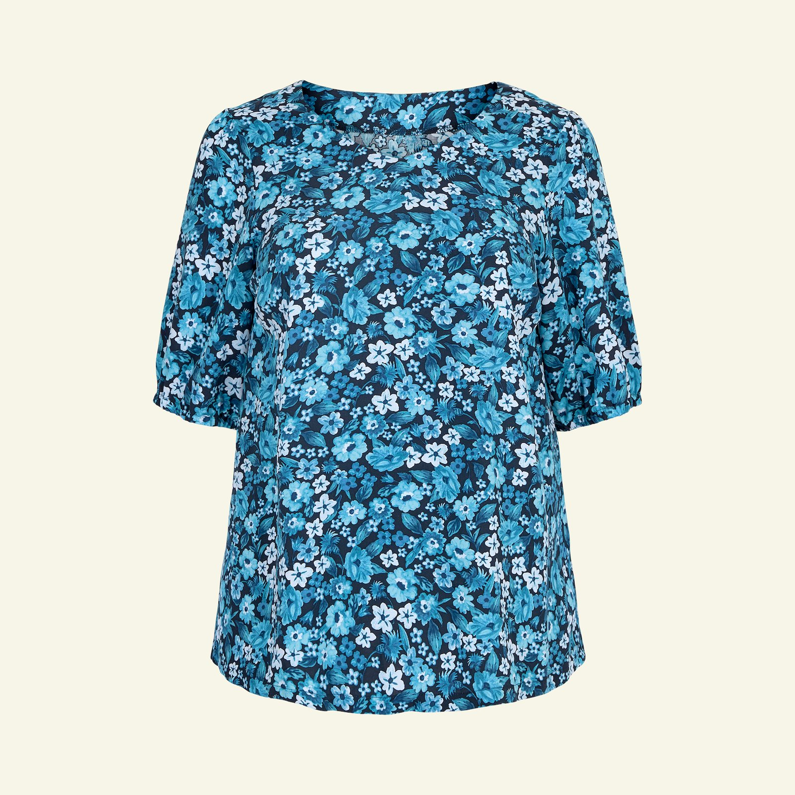 Blouse with long and short sleeve, 58/30 p72006_710656_sskit
