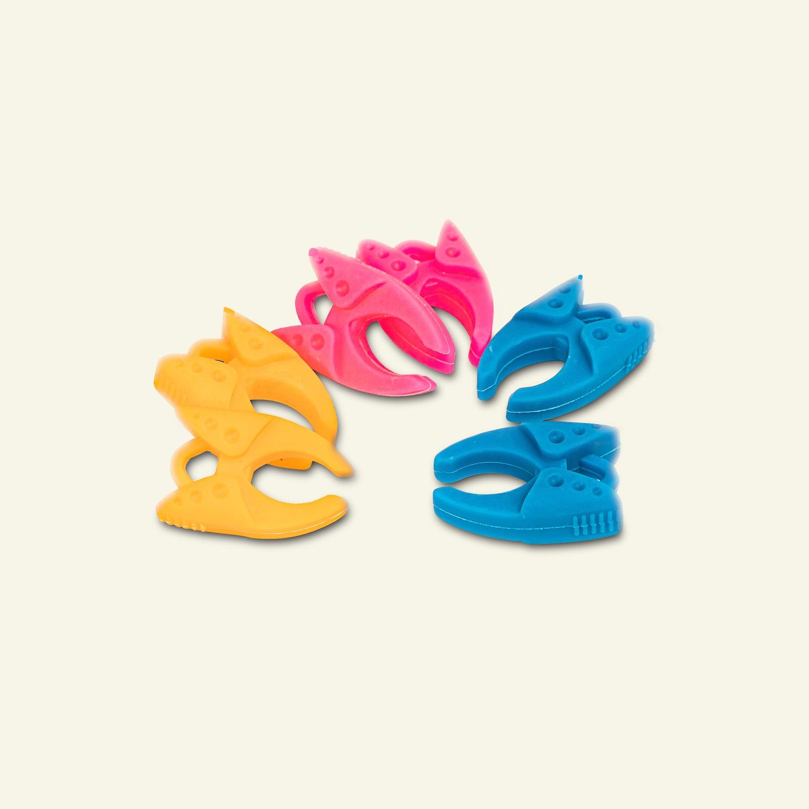 Bobbin clamp ass. colours 6 pcs 42003_pack