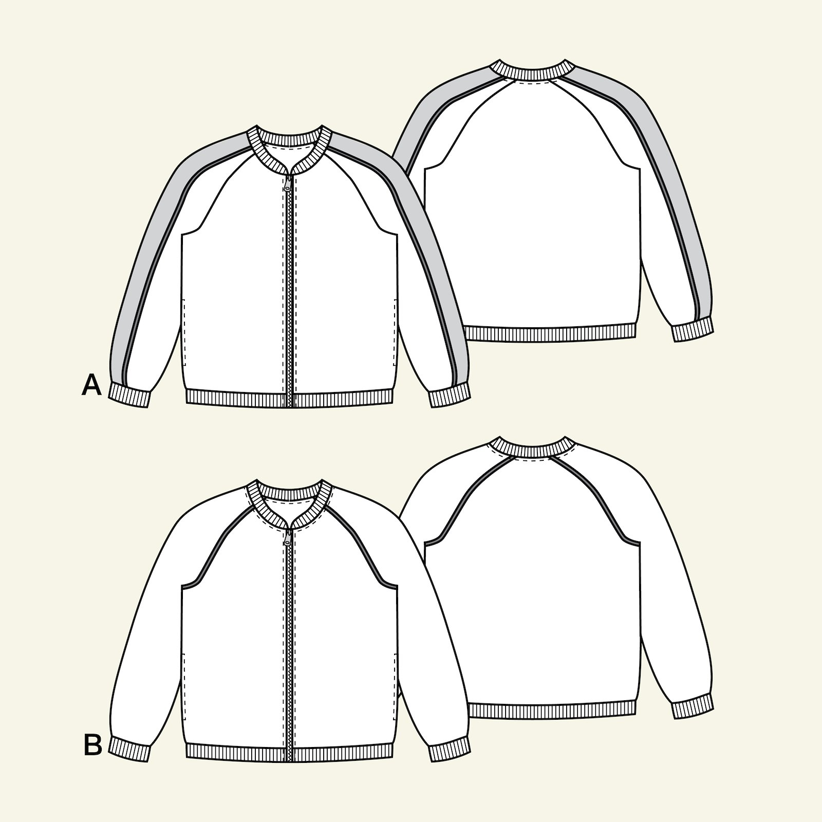 Bomber jacket, 134/9y p64017_pack
