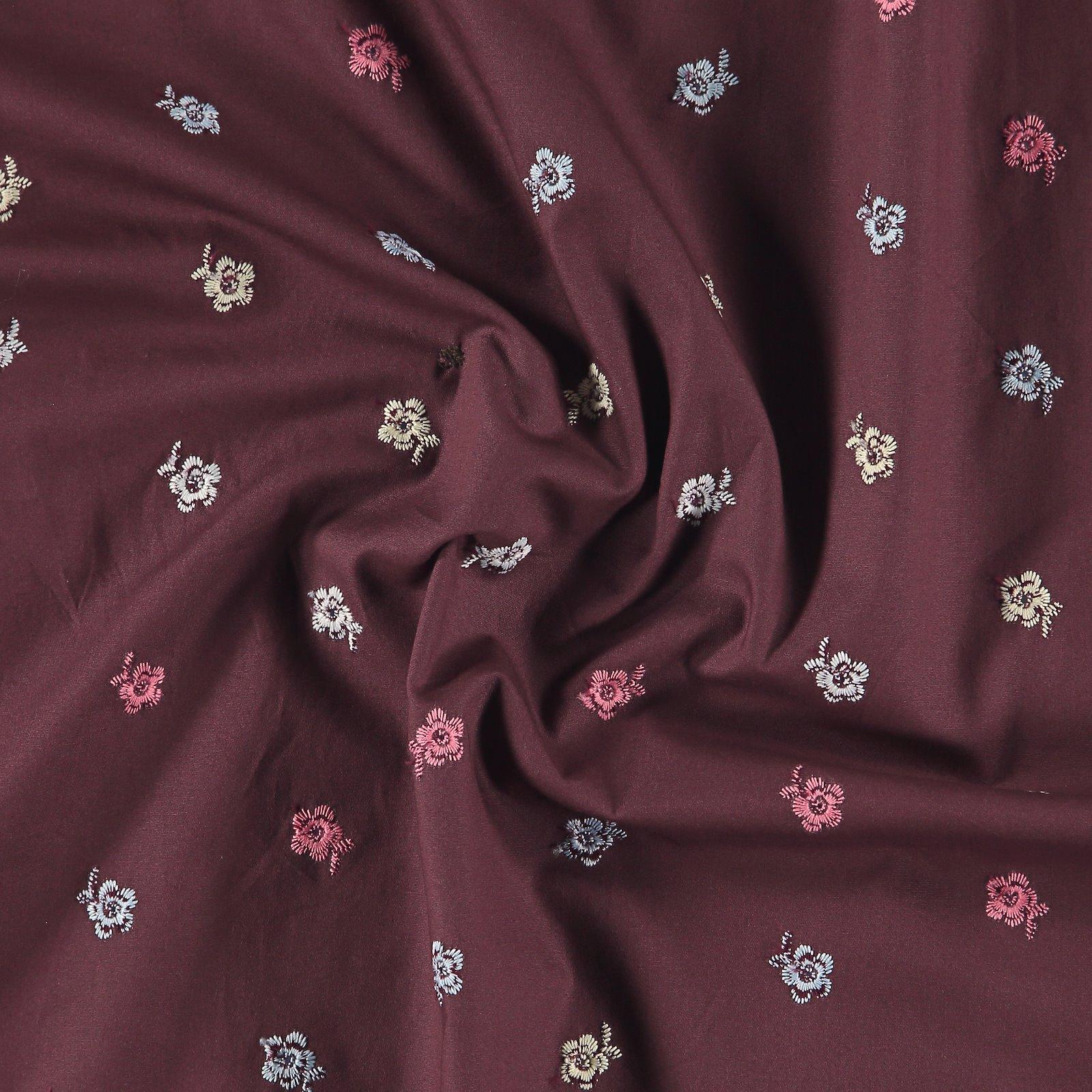 Broderie anglaise dark plum w flowers 550108_pack