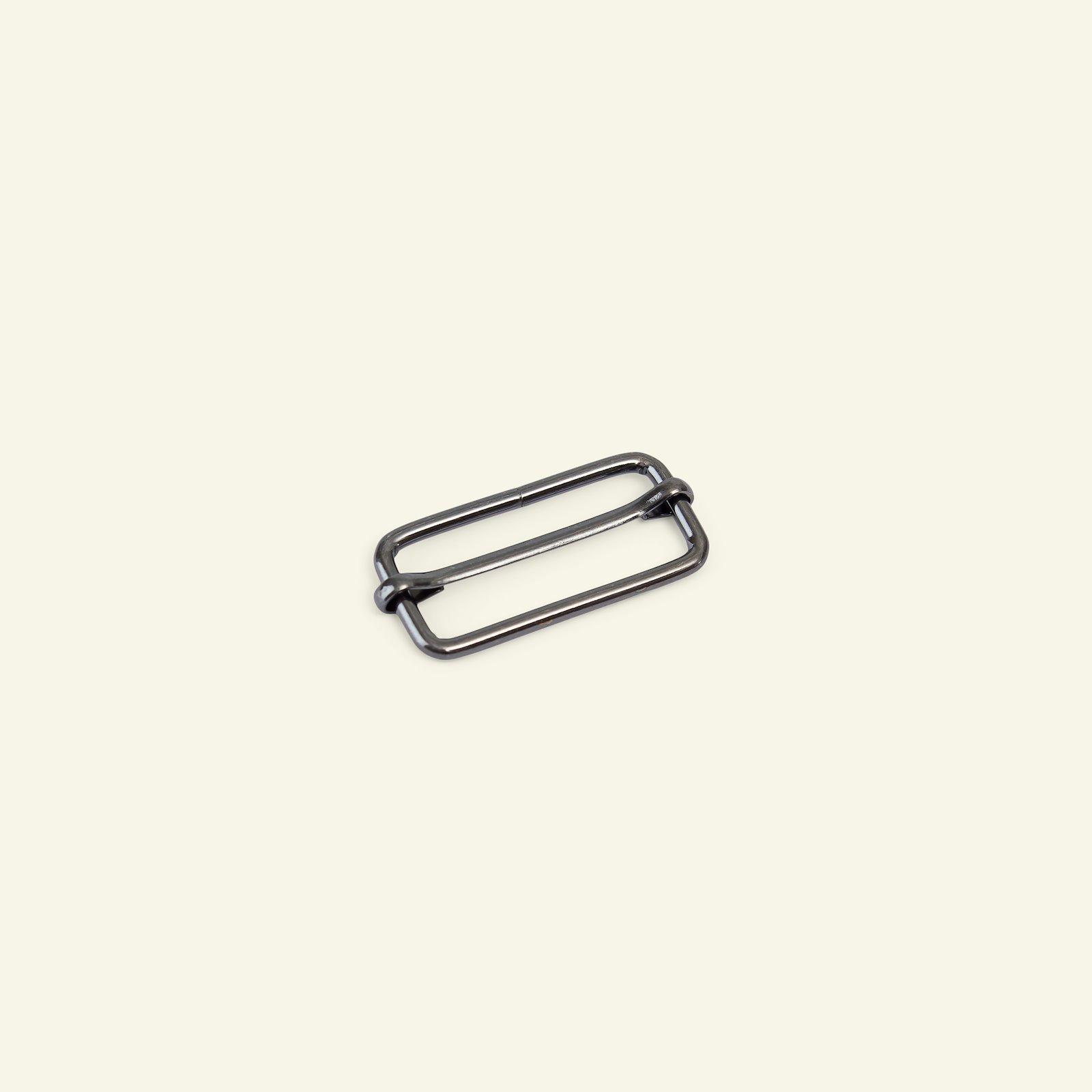 Buckle metal 38x16x3mm dark silver 1pc 45540_pack