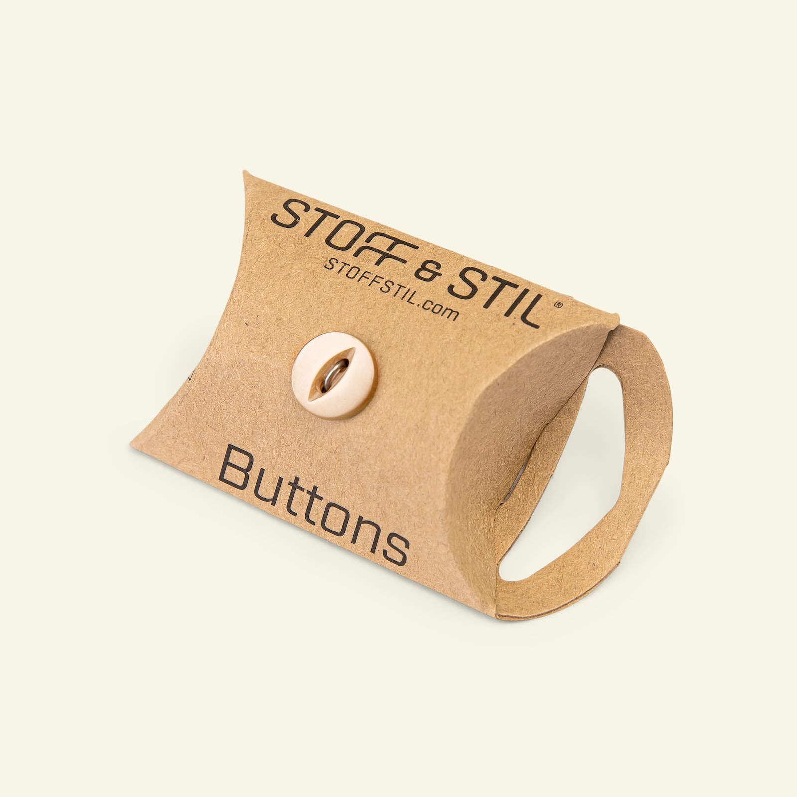 Button 2-holes 12mm light brown 10pcs 33325_pack_b